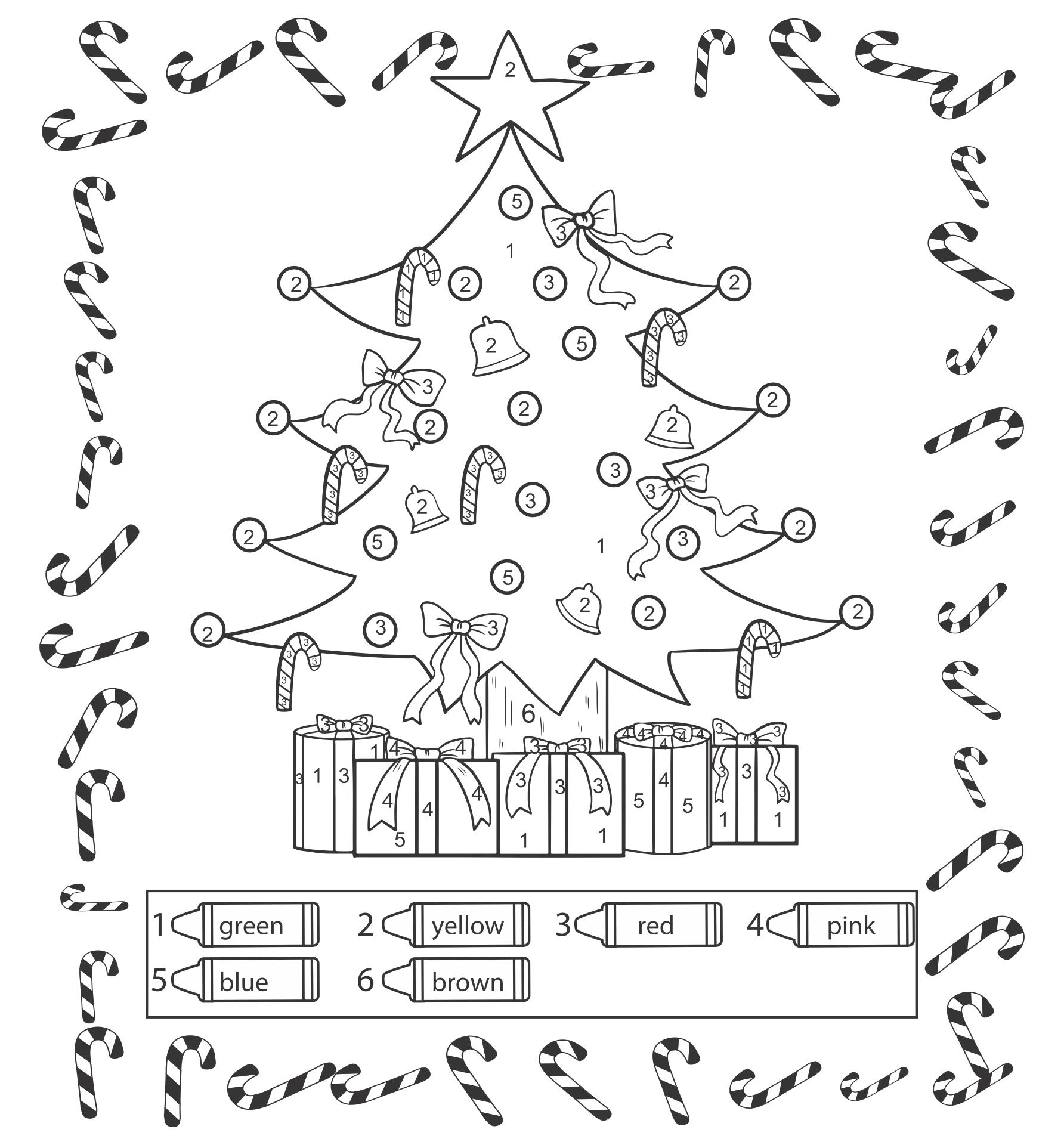Christmas Printables And Preschool Worksheets