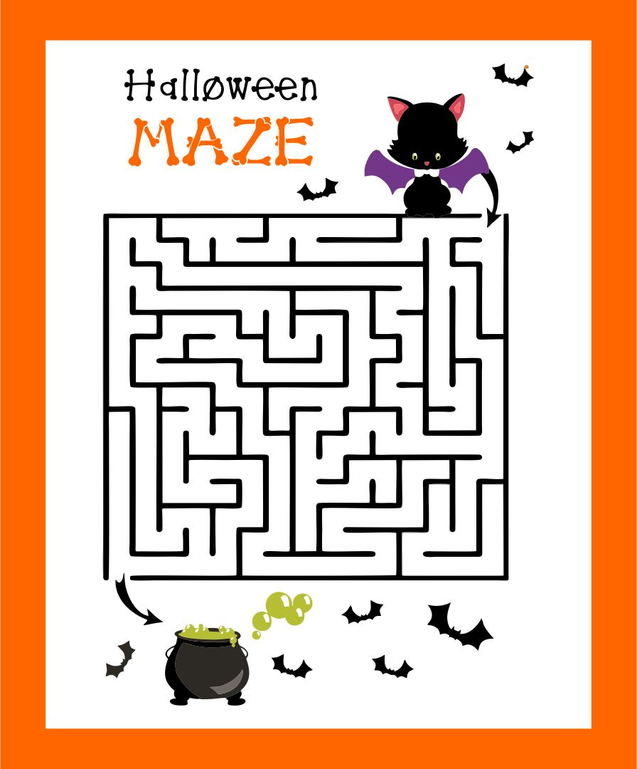 Halloween Printables Coloring Activities