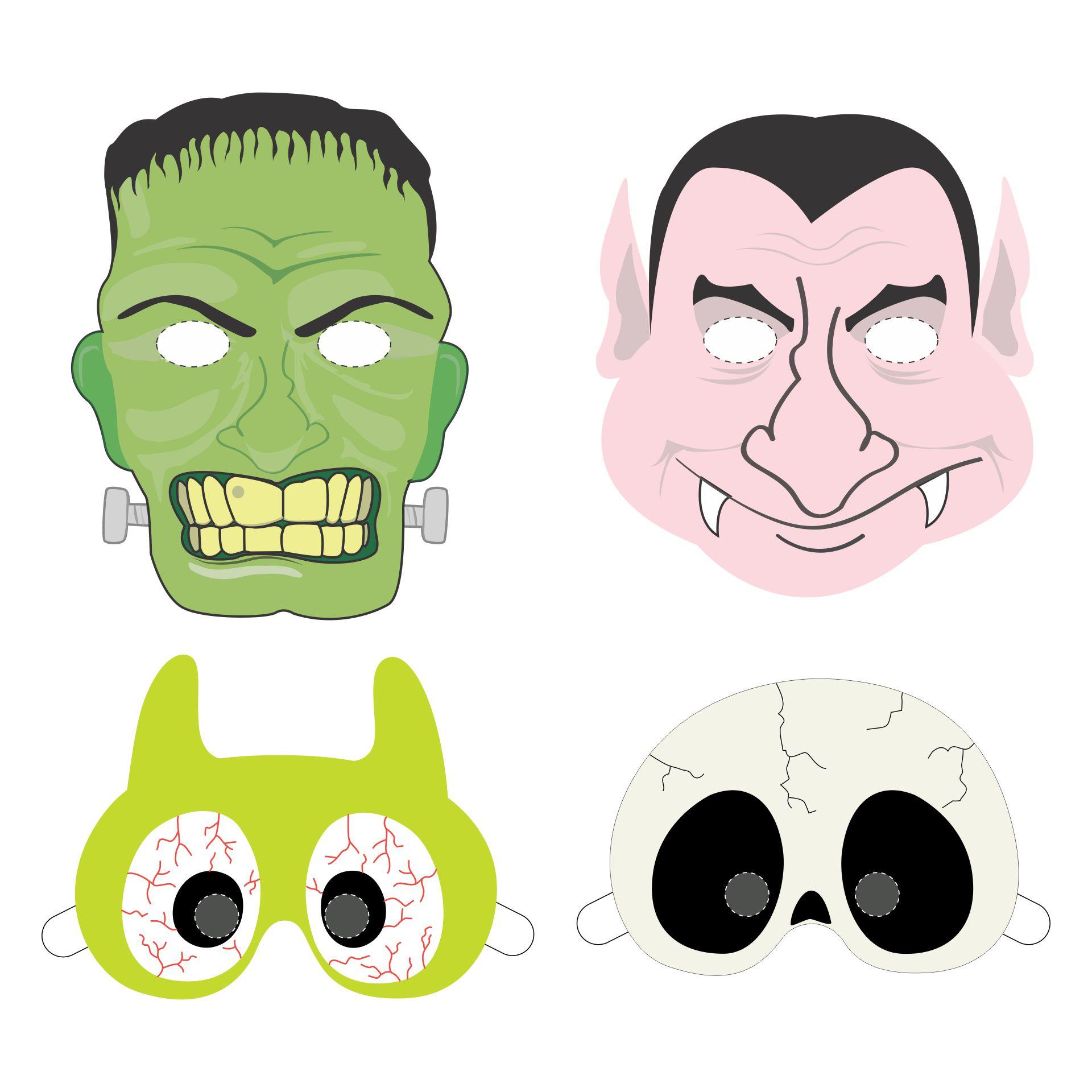 Easy DIY Crafts Halloween Printable