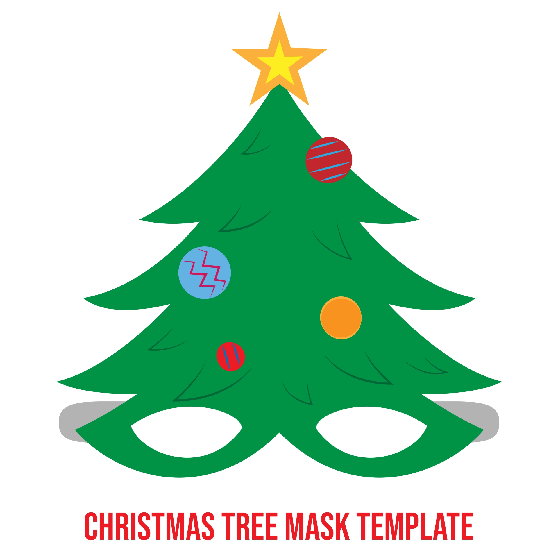 Christmas Printable Craft Templates