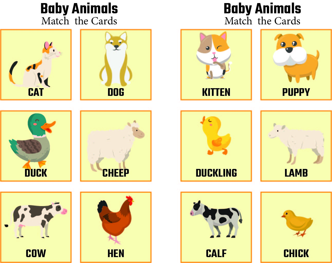 Baby animals and their mothers  YouTube