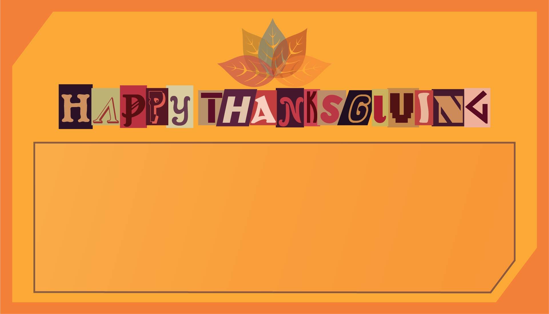 Printable Thanksgiving Thank You Notes