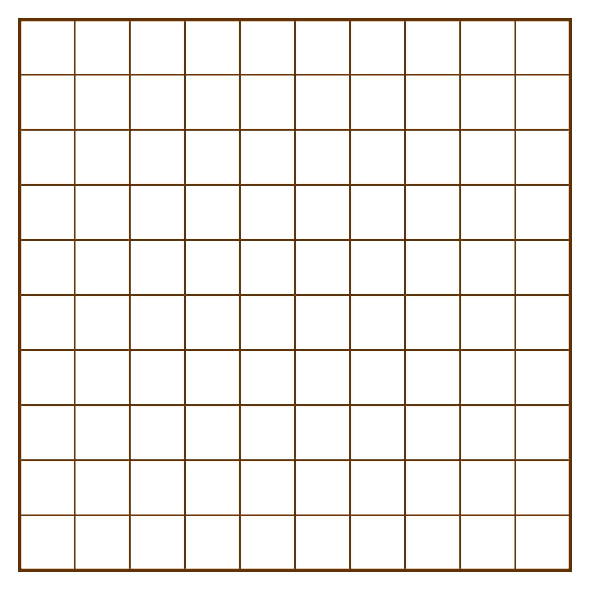 Printable Grids Squares
