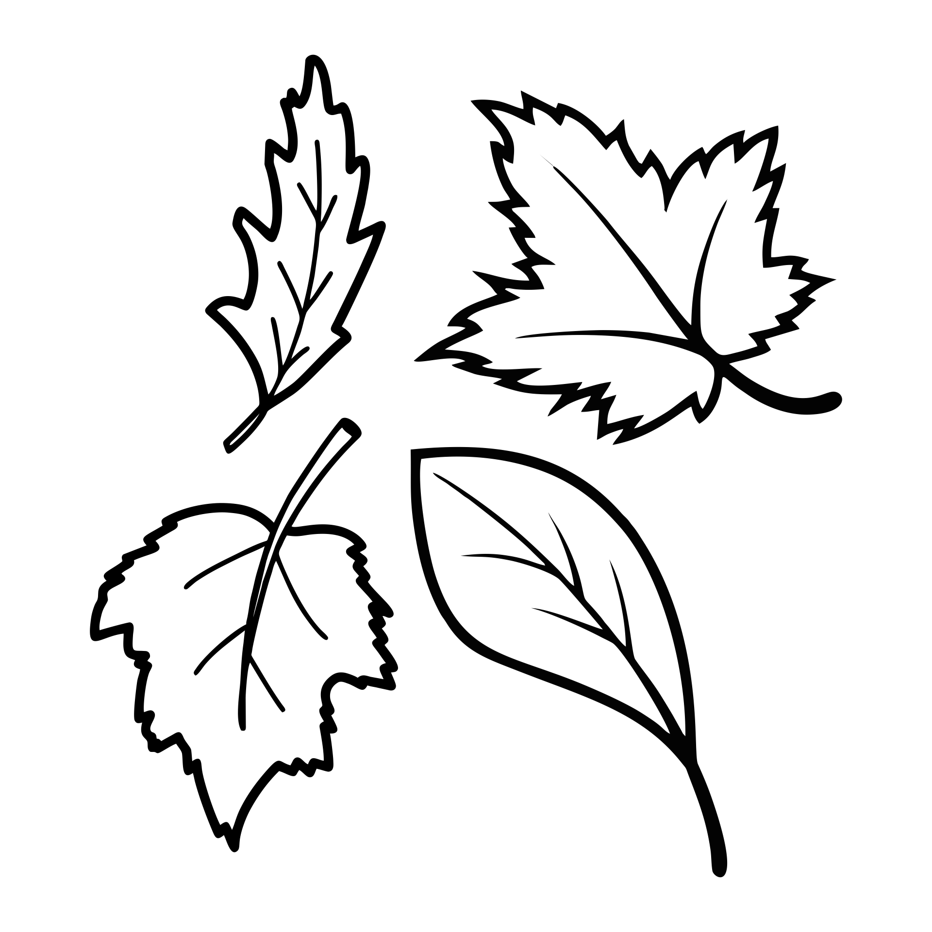 Fall Leaves Worksheets Printables