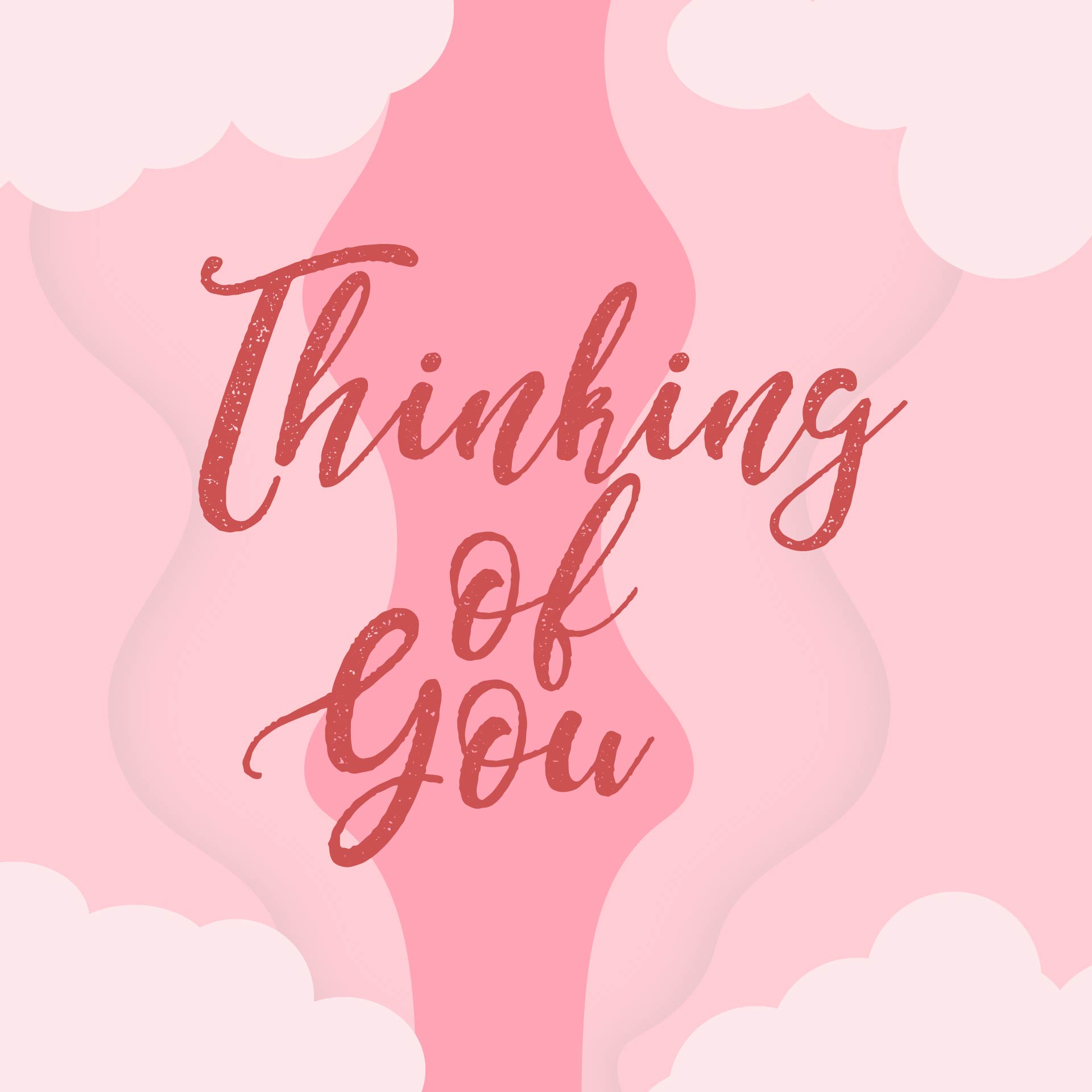 Thinking Of You Coloring Cards Printable
