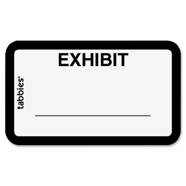Printable Exhibit Stickers