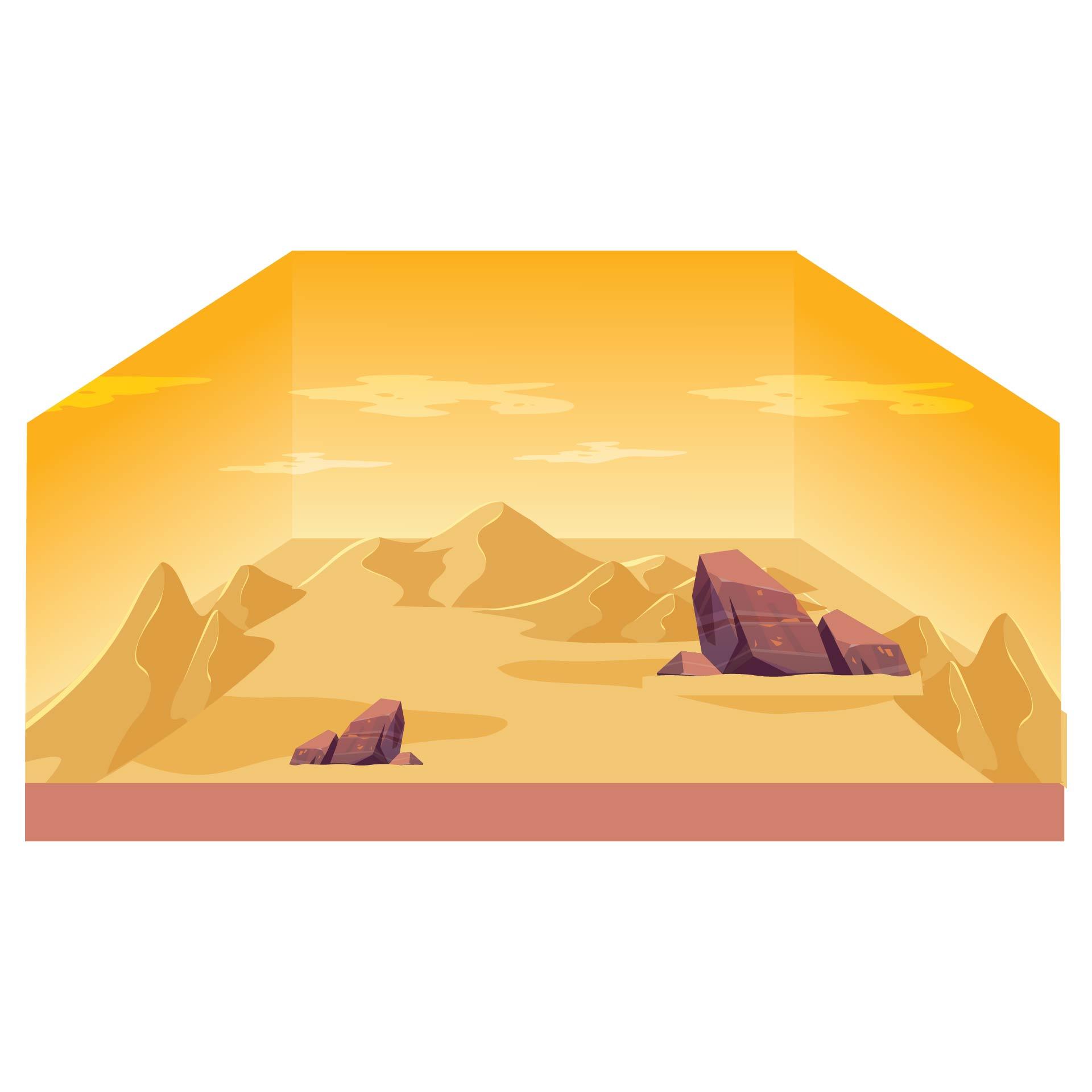 Desert Diorama Printables