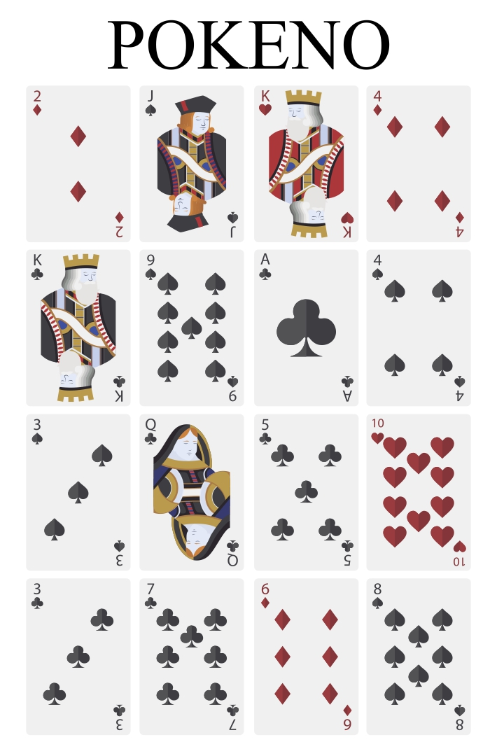 Printable Pokeno Playing Cards