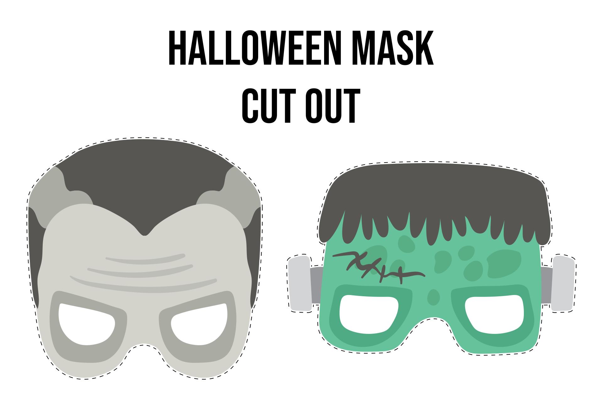 Printable Halloween Crafts
