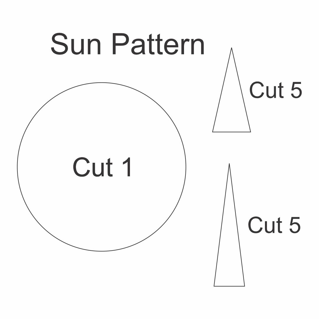 Printable Sun Patterns