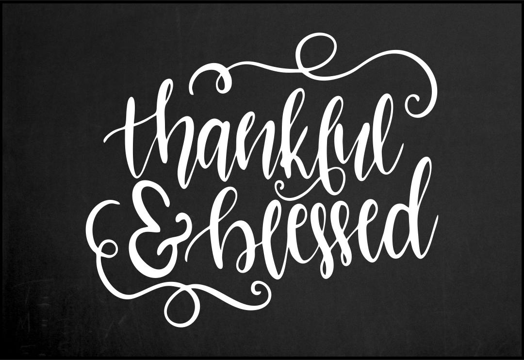 Thanksgiving Chalkboard Art Printables