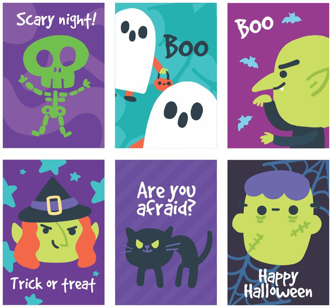 Printable Halloween Goodie Bag Tags