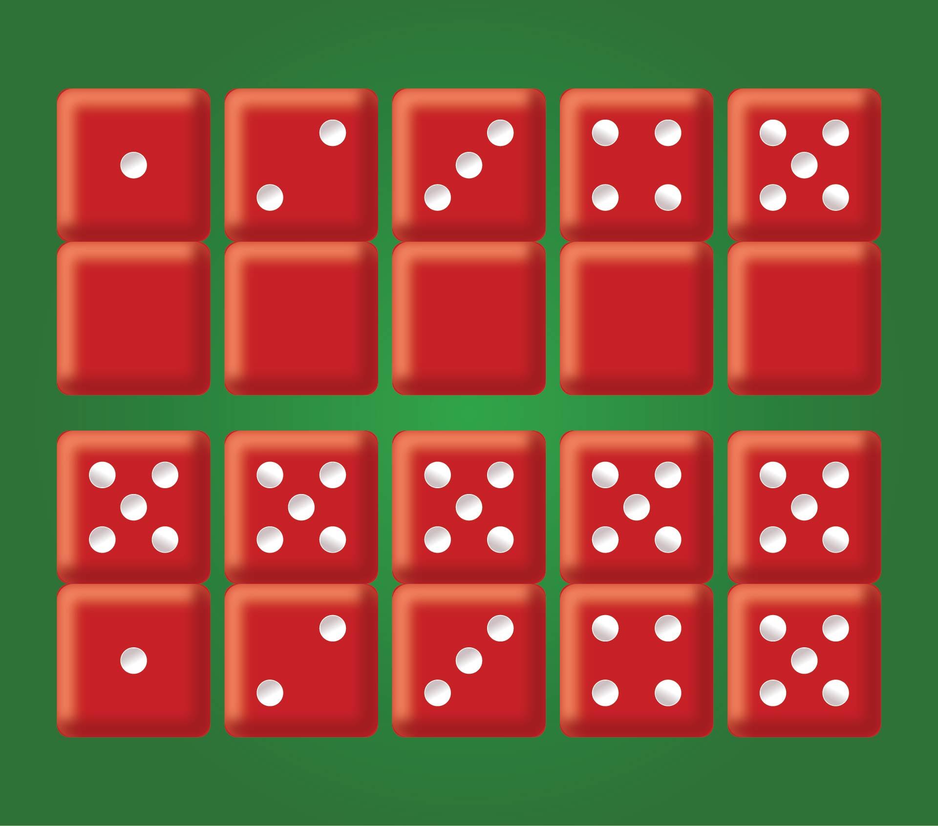 Printable Dot Cards 1 20