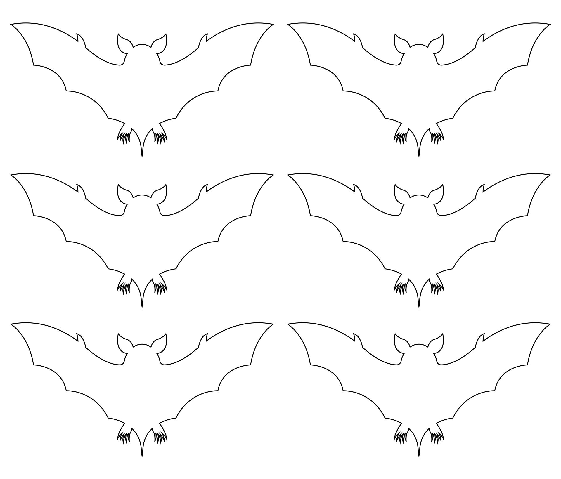 Printable Halloween Cutouts