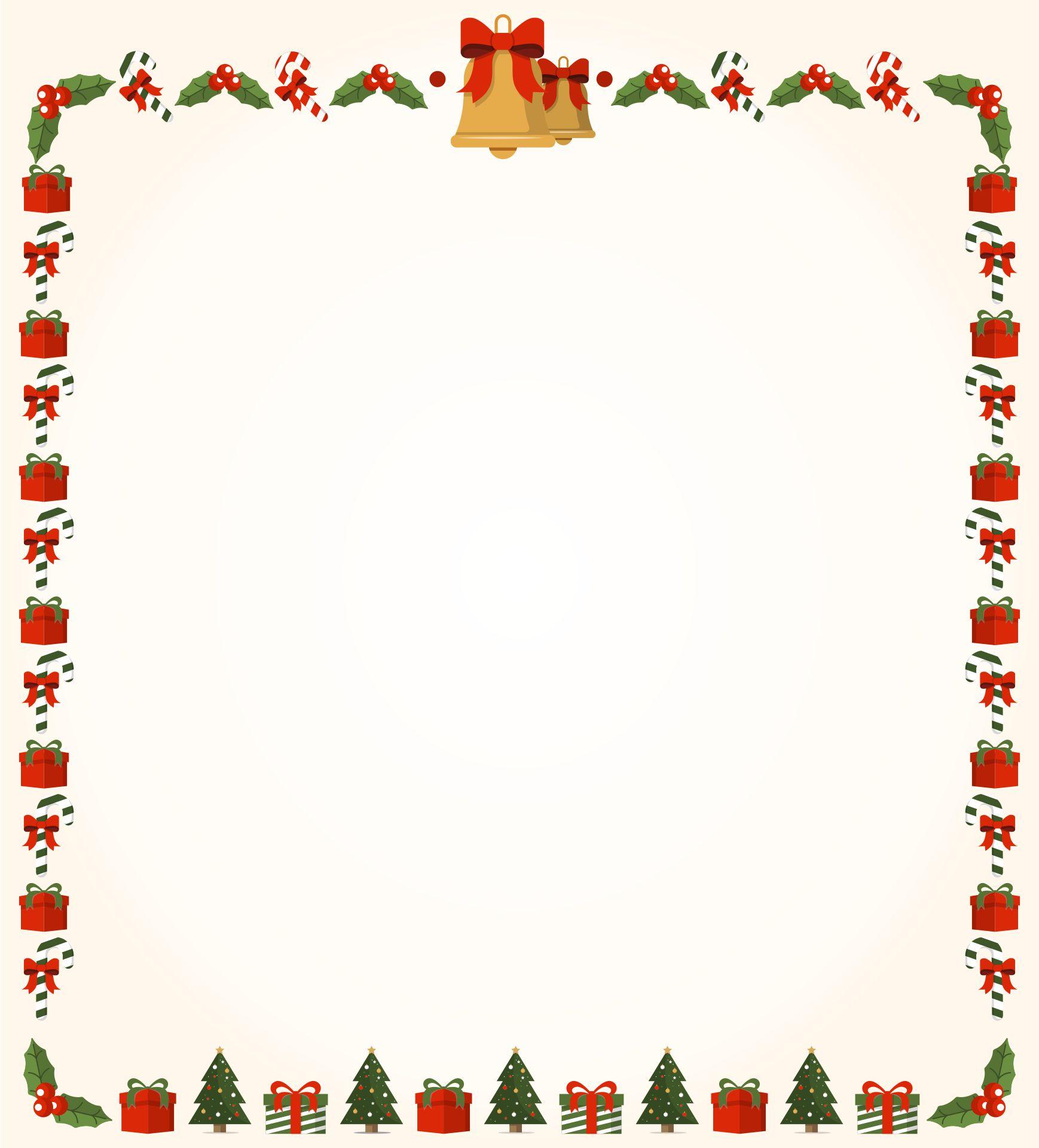 Printable Christmas Borders