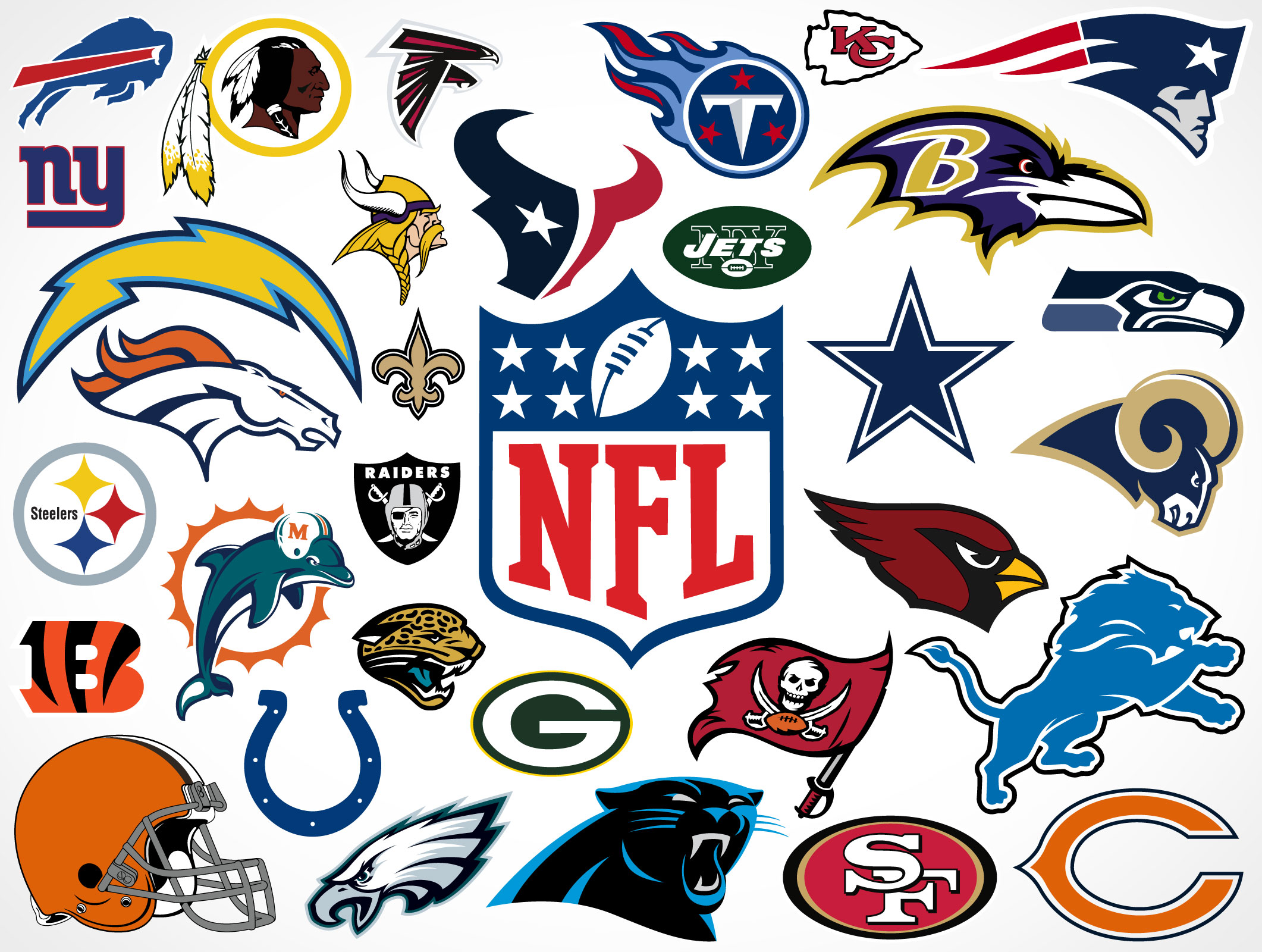NFL Emblems Printable
