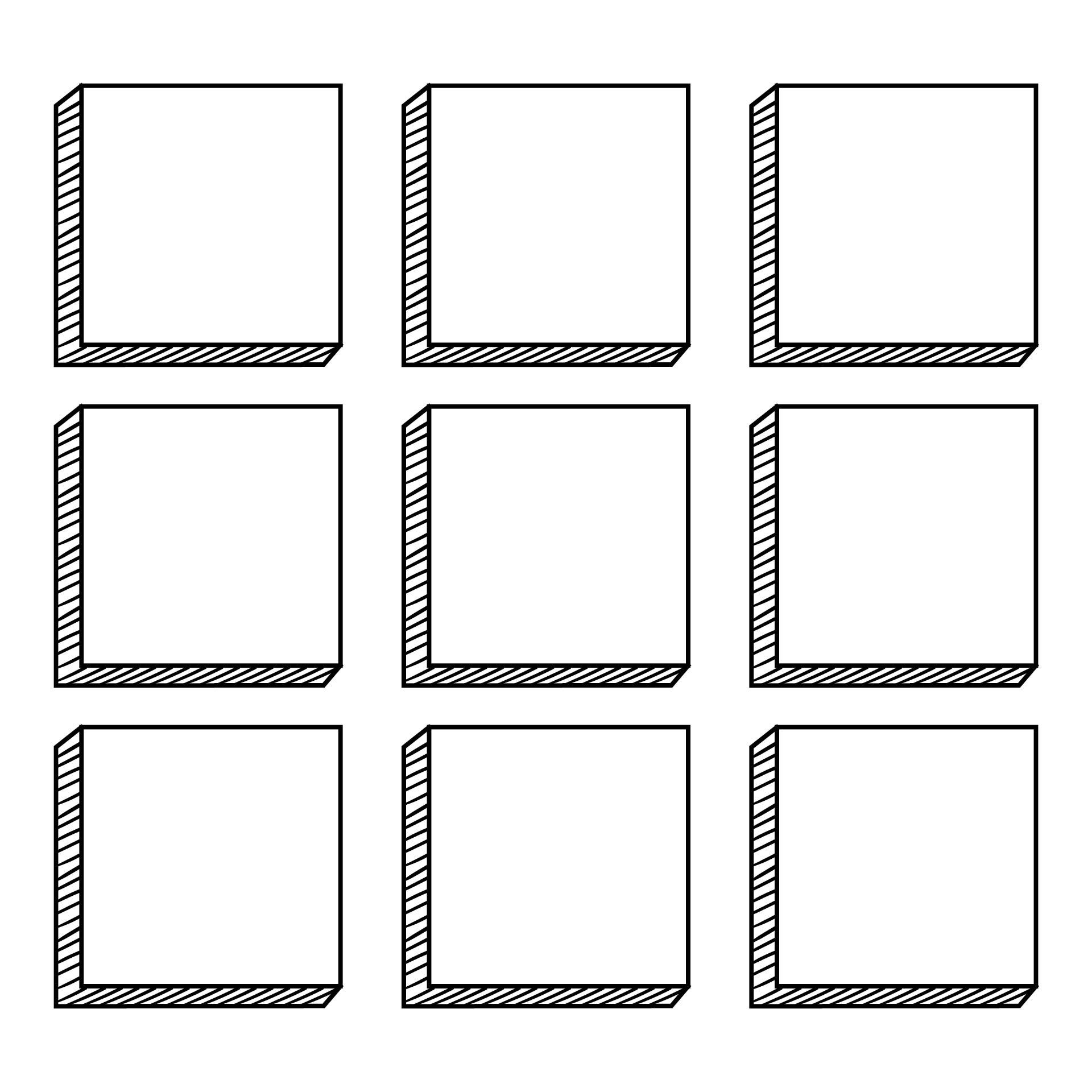 Square Templates Printable