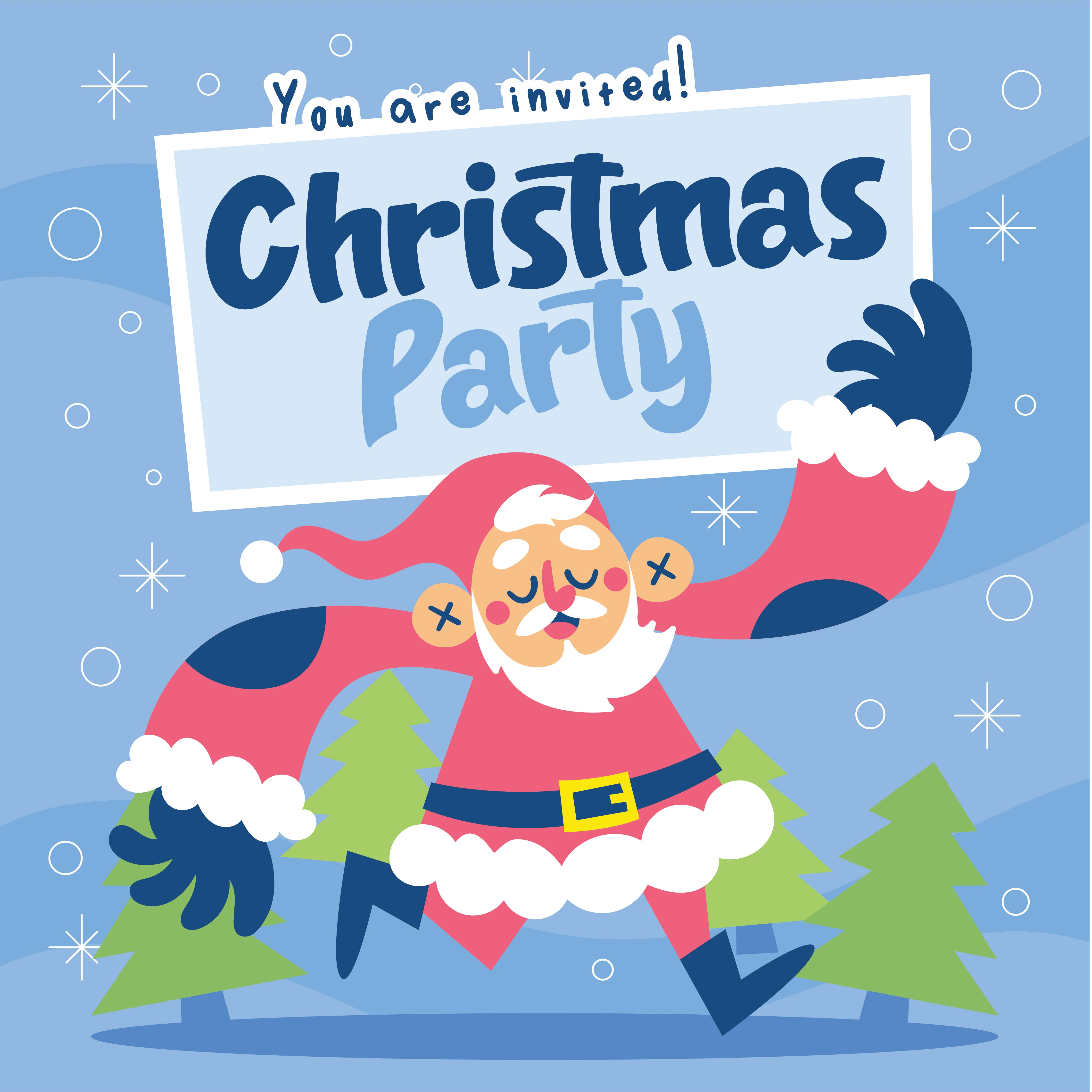 Christmas Party  Printable Template