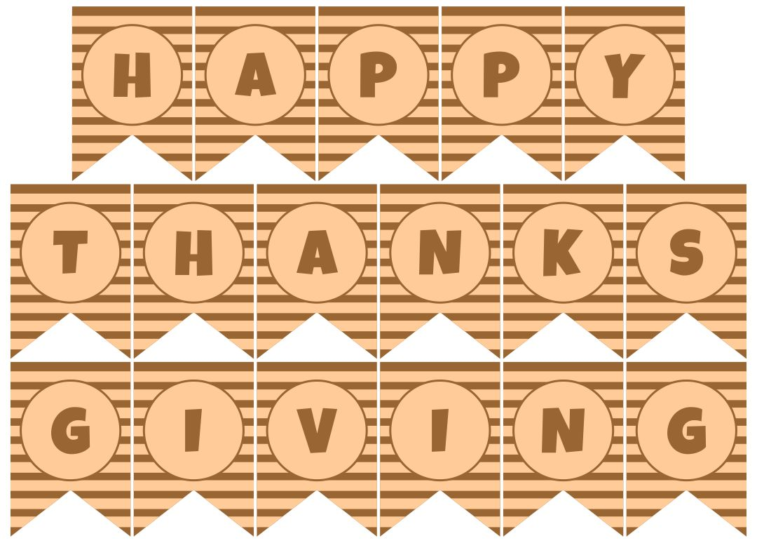 Printable Thanksgiving Feast