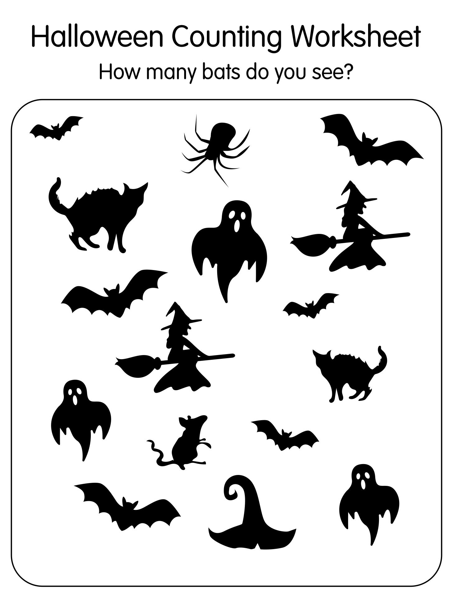 Halloween Printables Kindergarten