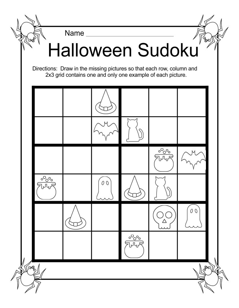 Printable Halloween Games For Adults