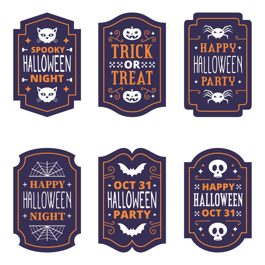 Halloween Printable Labels For Jars