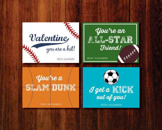 Basketball Valentine Cards Printable