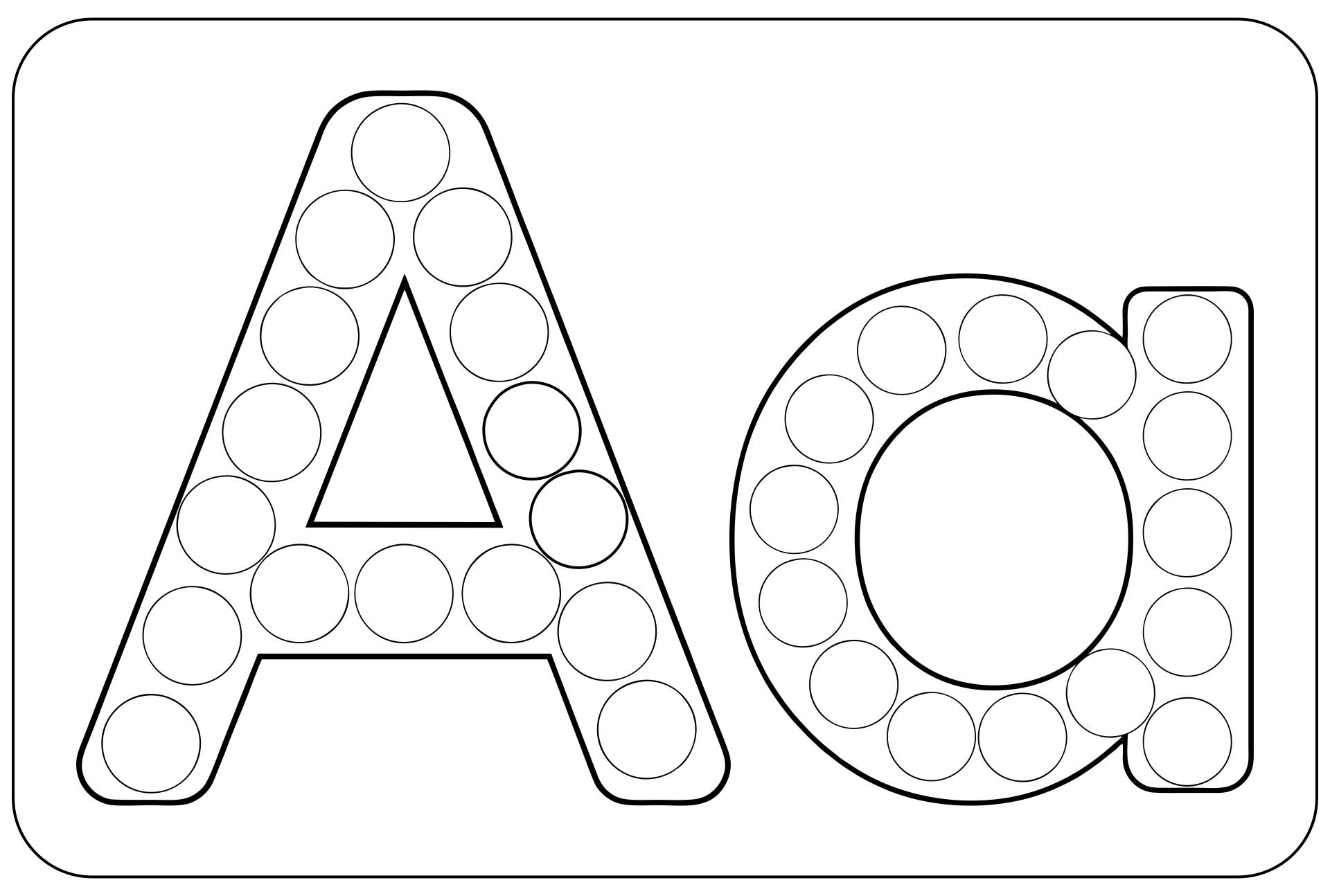 Preschool Do A Dot Printables Letter N