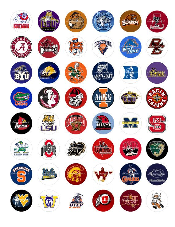 Printable College Logos