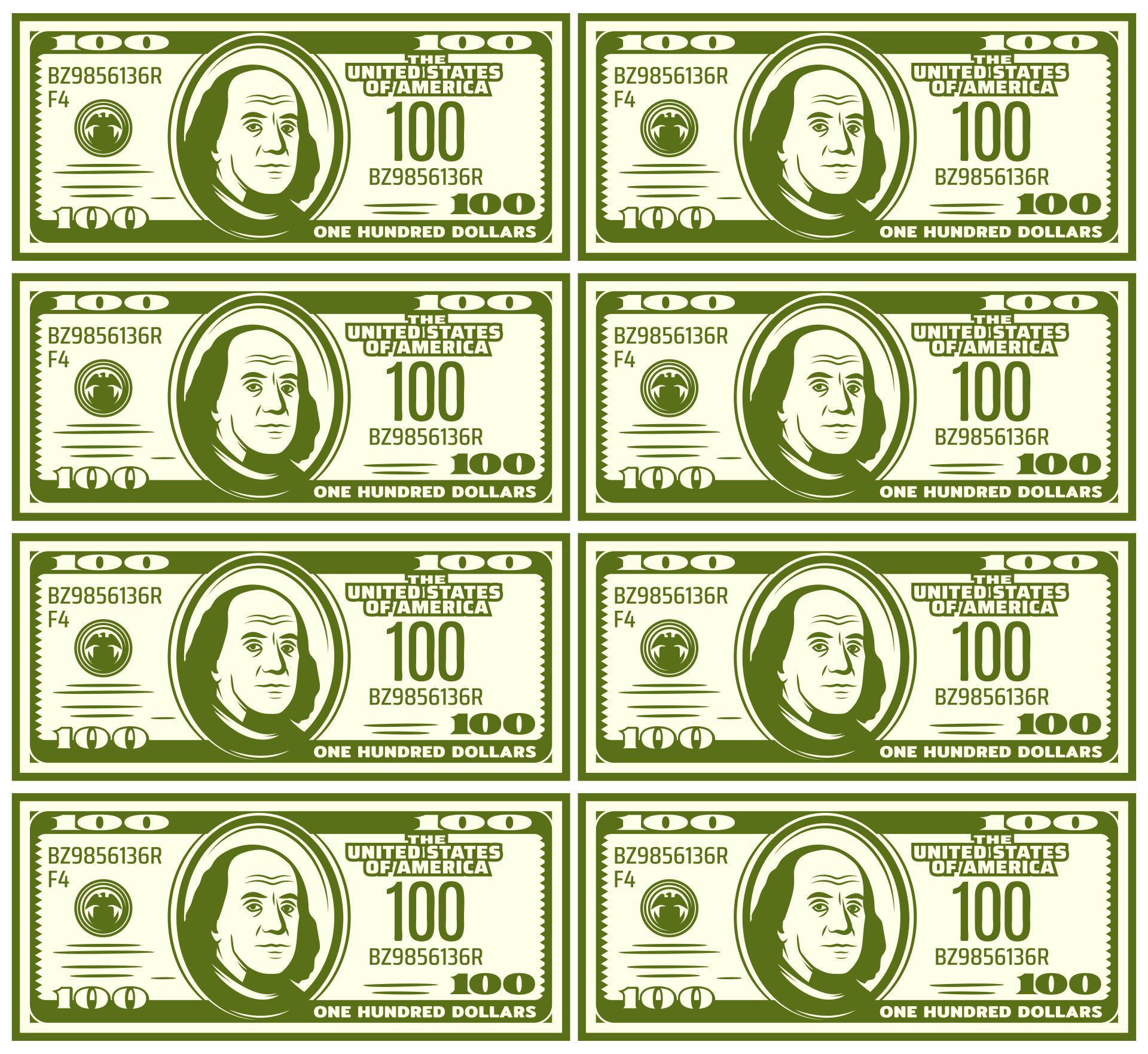 Fake Printable Money Sheets