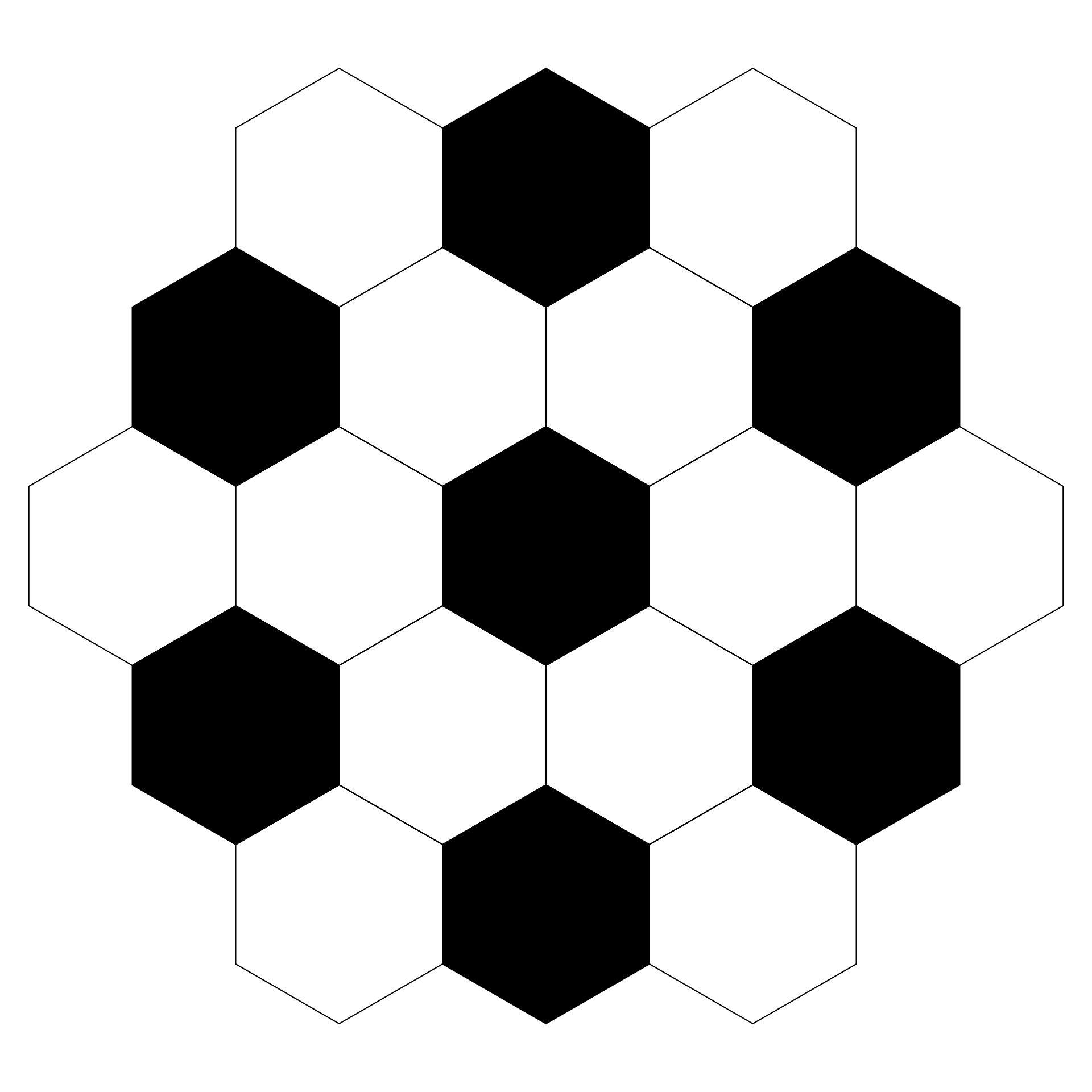 Printable Soccer Ball Pattern