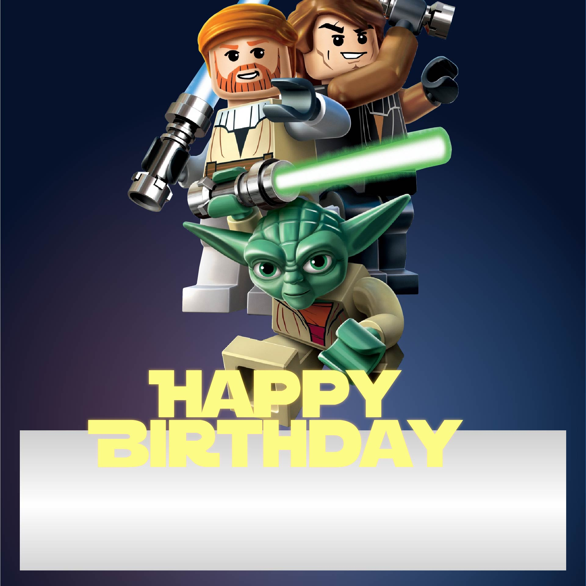 LEGO Birthday Printable Cards To Color
