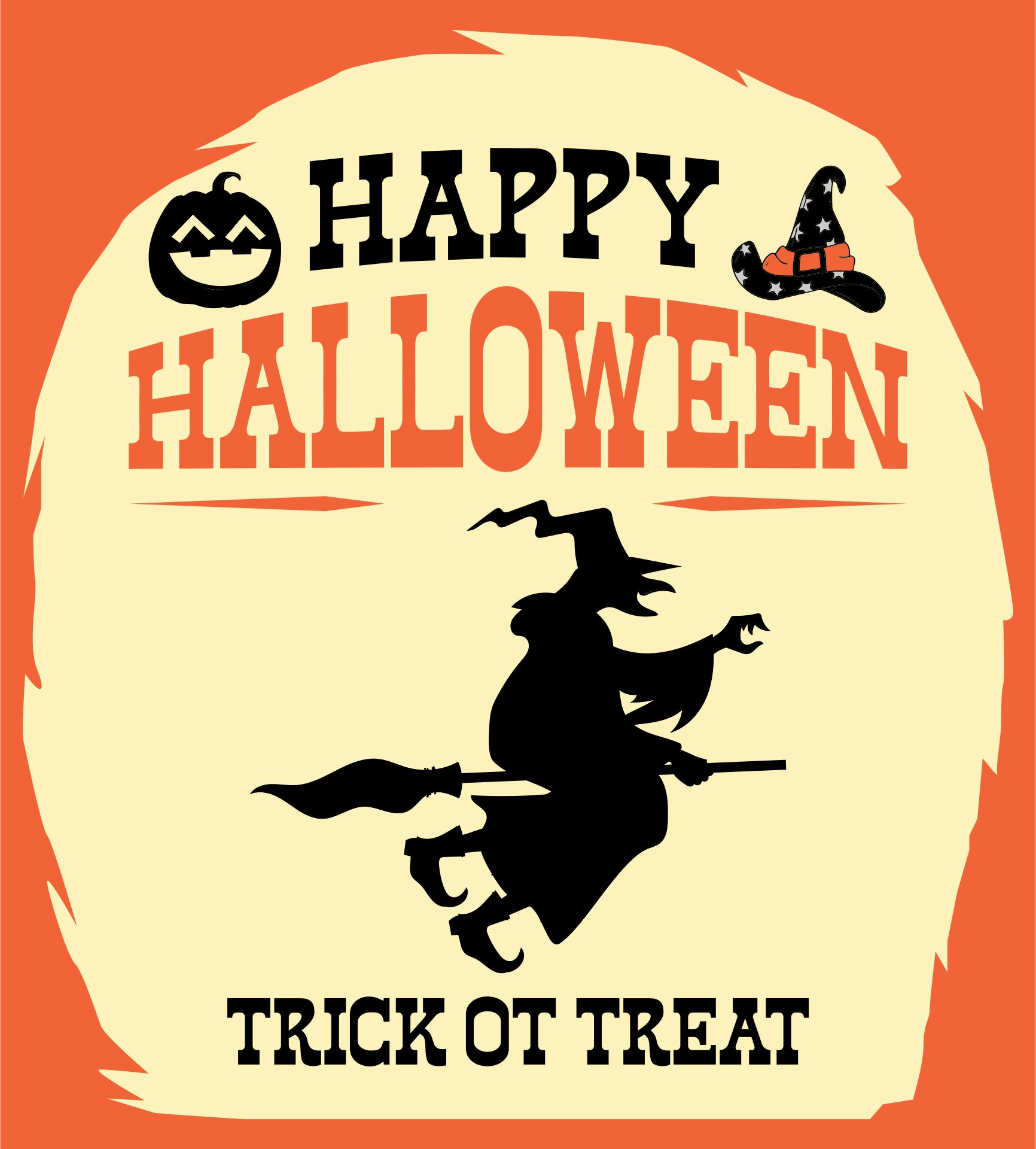 Vintage Printable Halloween Signs