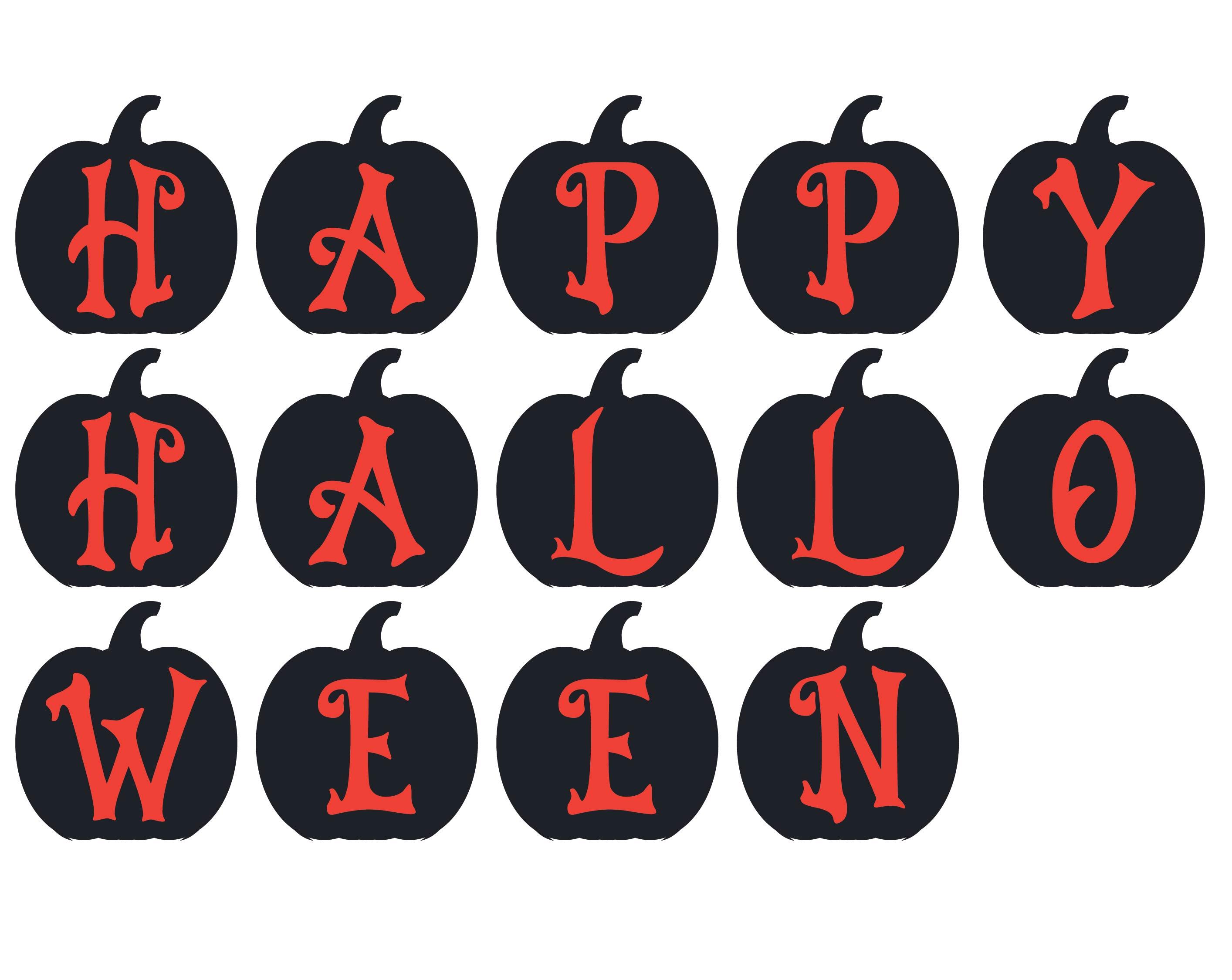Vintage Halloween Printable Banner