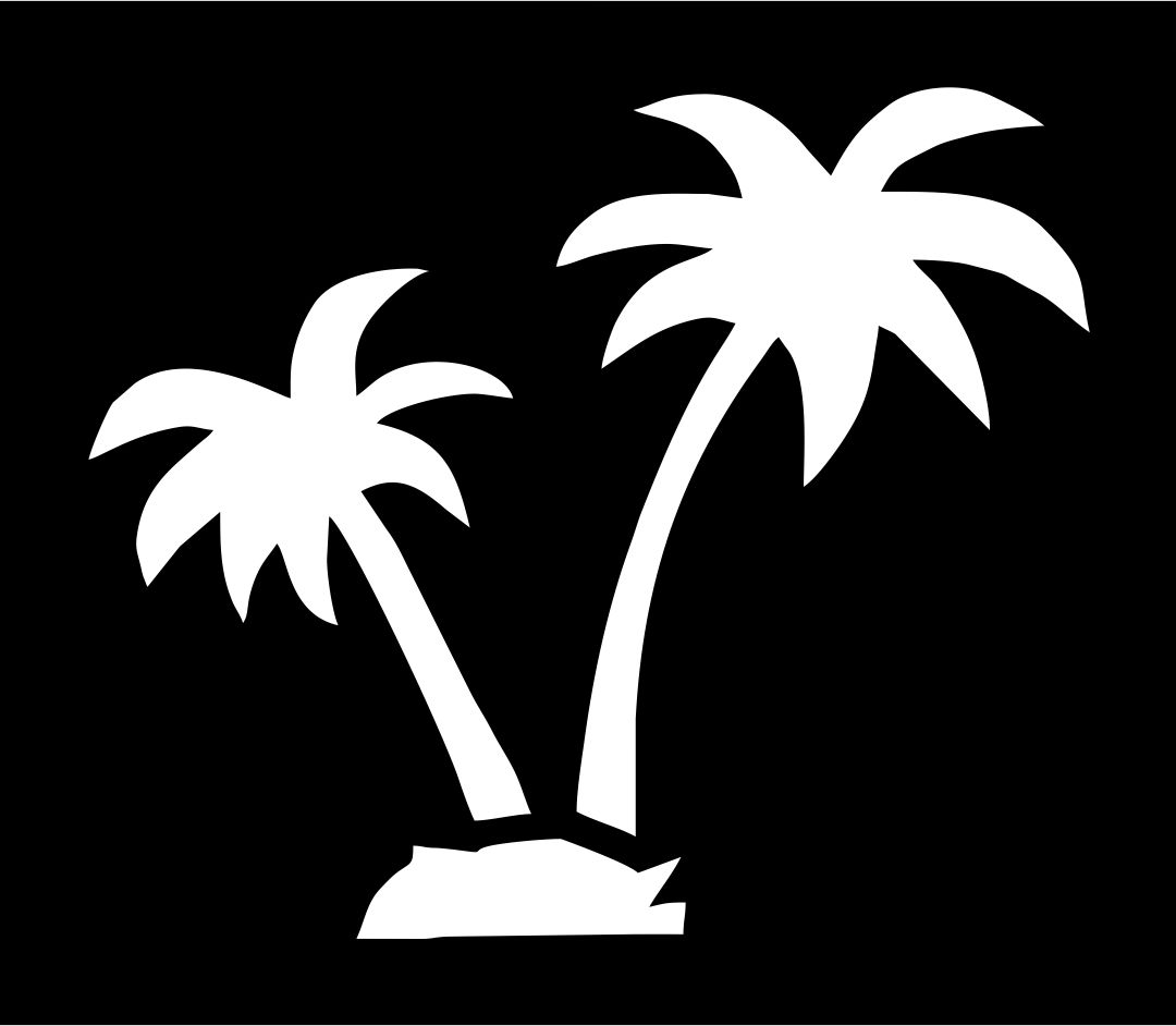 Palm Tree Stencil Printable