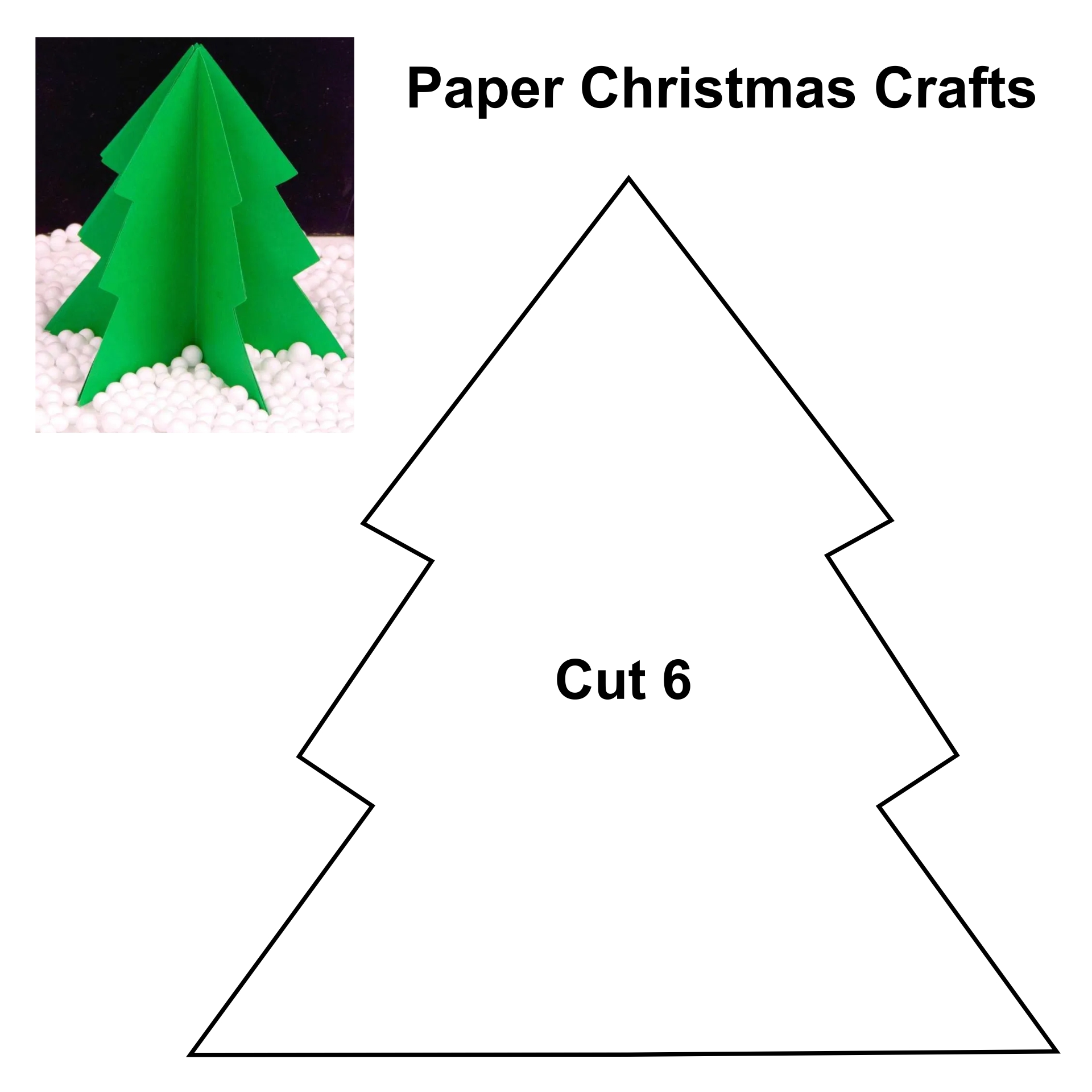 Printable Christmas Paper Folding Crafts