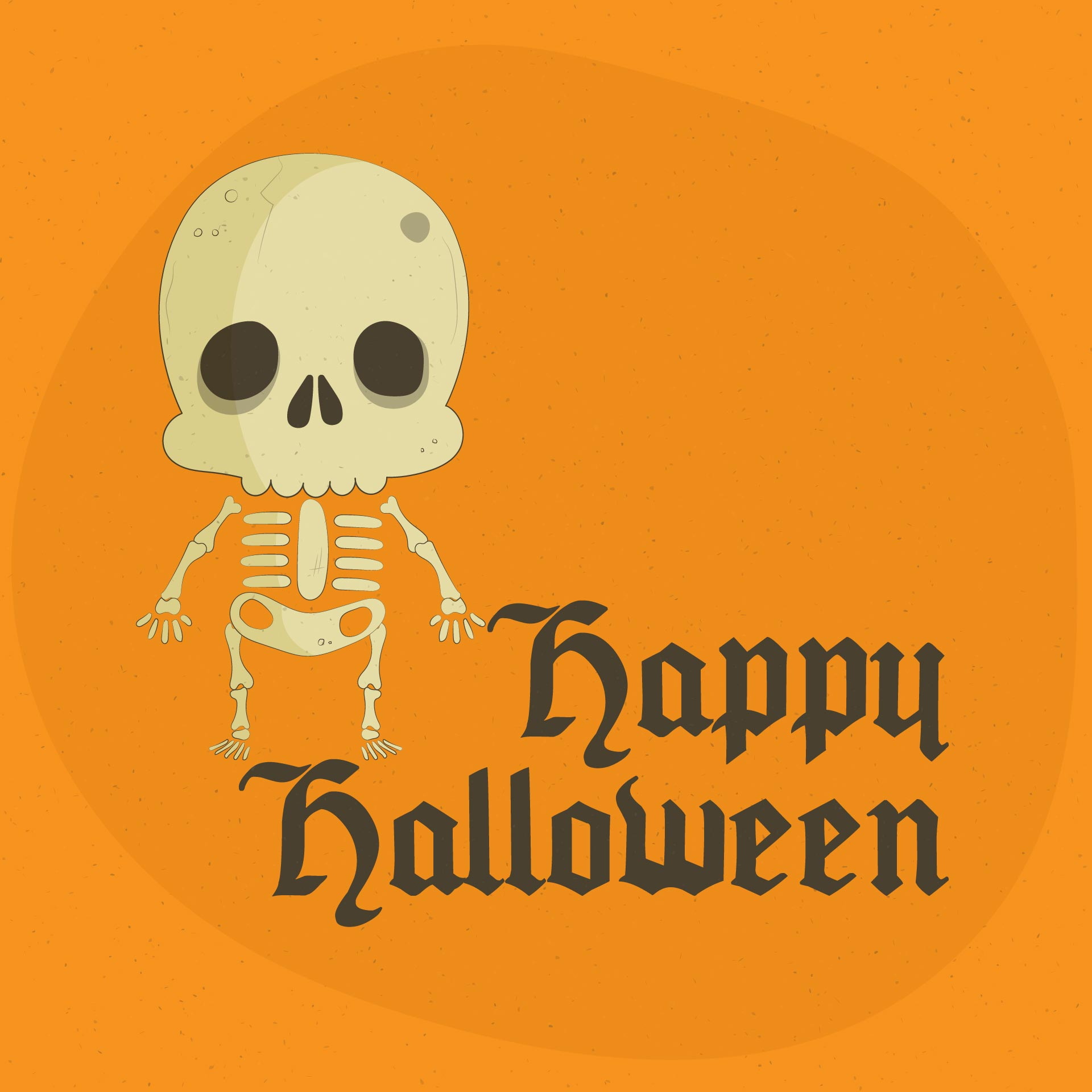 Printable Vintage Halloween Clip Art