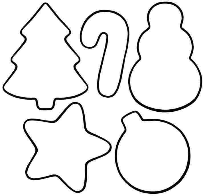 Preschool Printable Christmas Ornaments