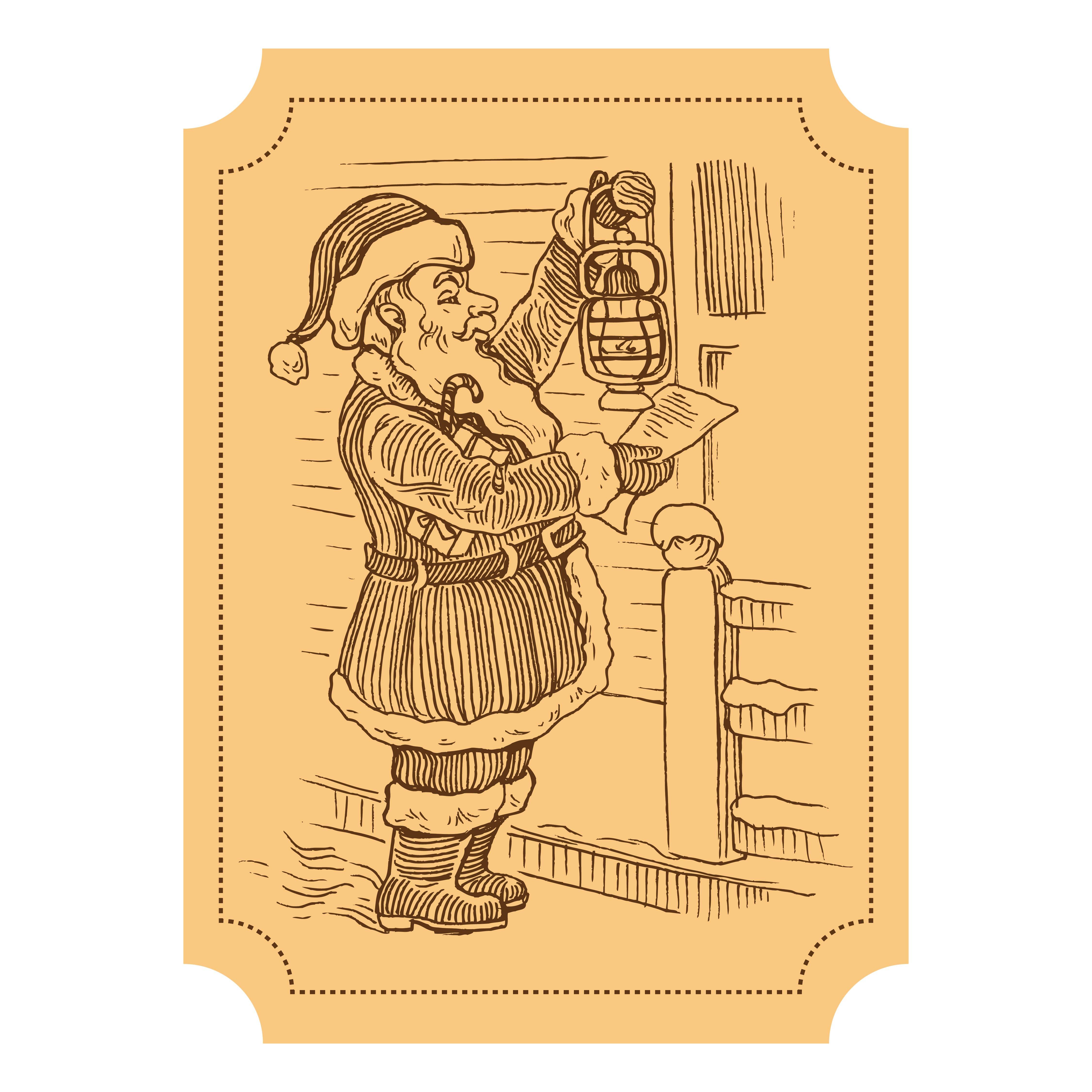 Printable Vintage Christmas Ephemera