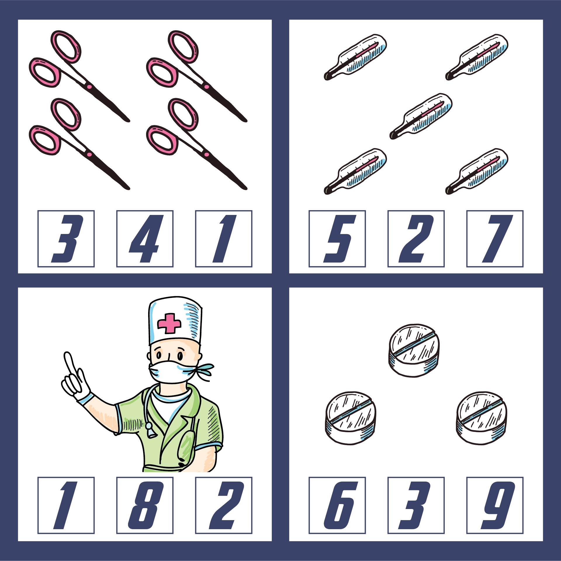 Doctor Kit Printables For Preschool
