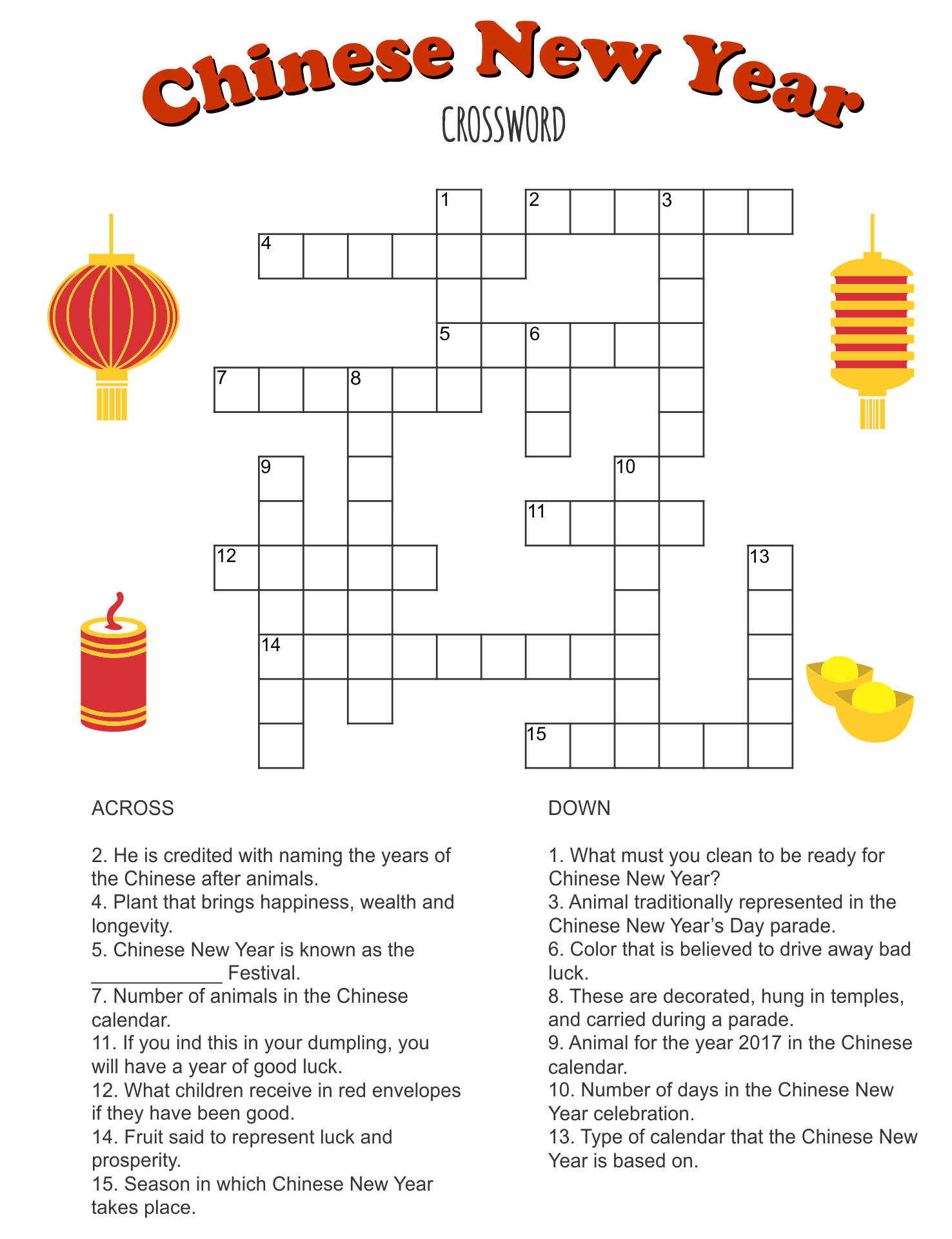 Easy Printable Puzzles