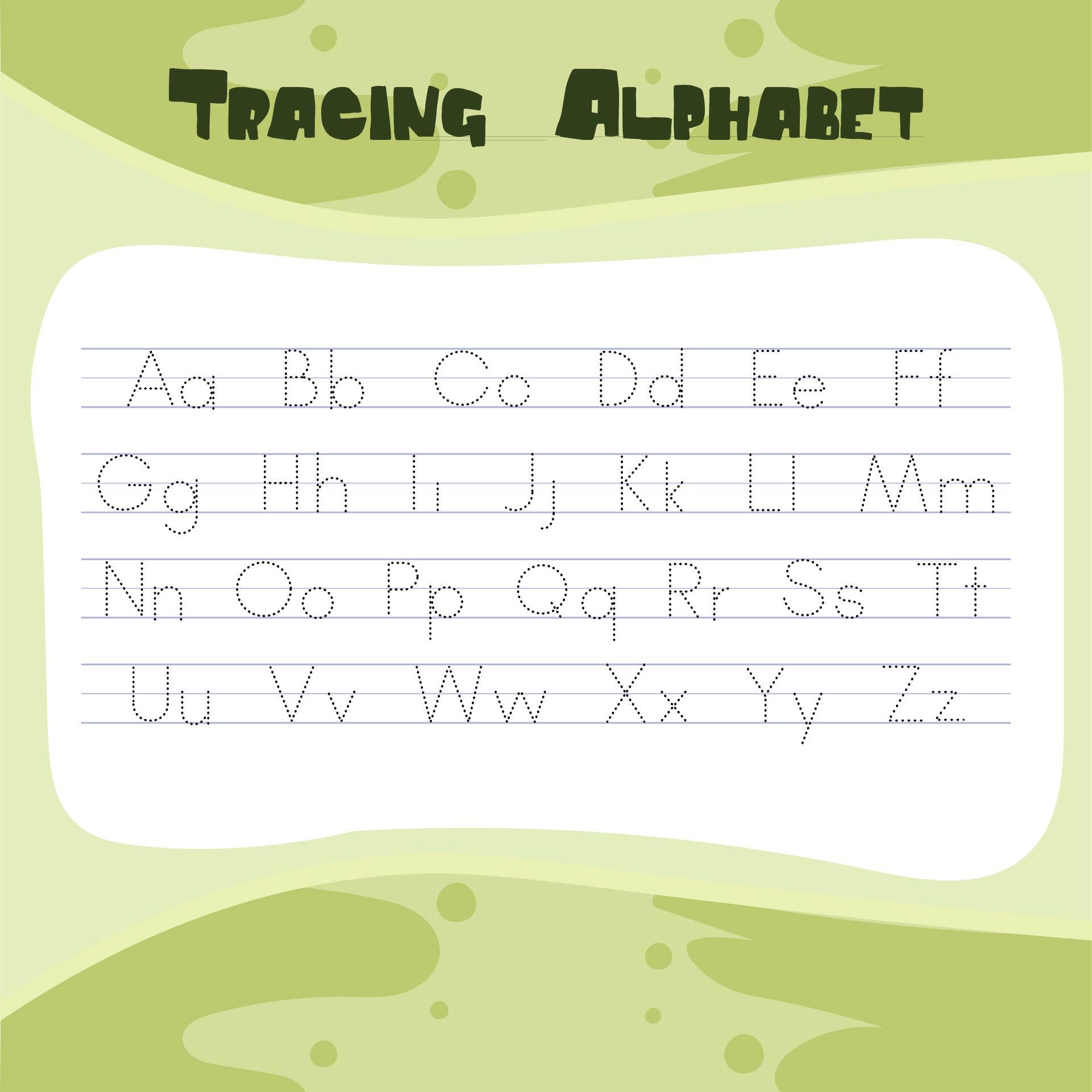 ABC Worksheets Preschool Printables