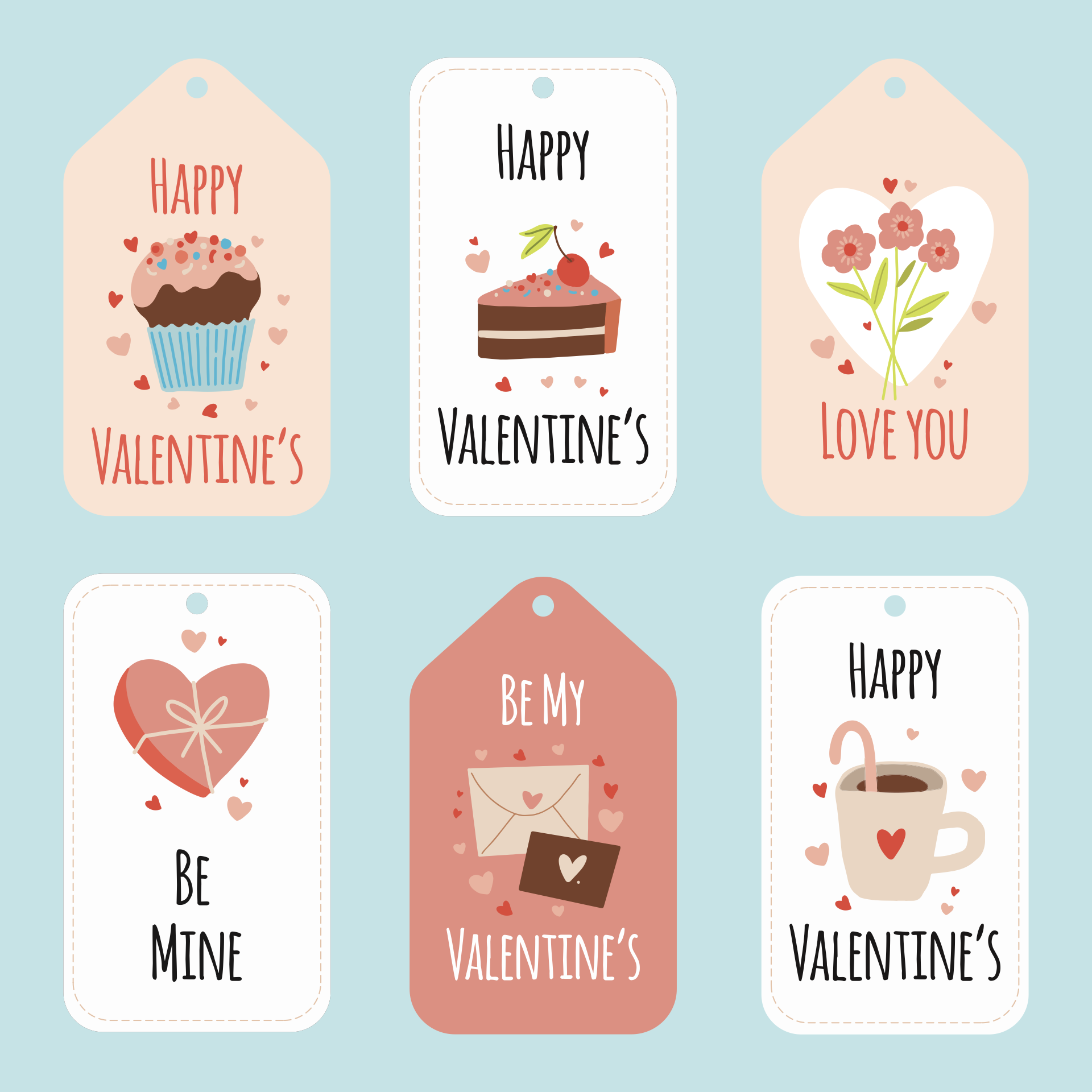 Valentine Printable Gift Tags