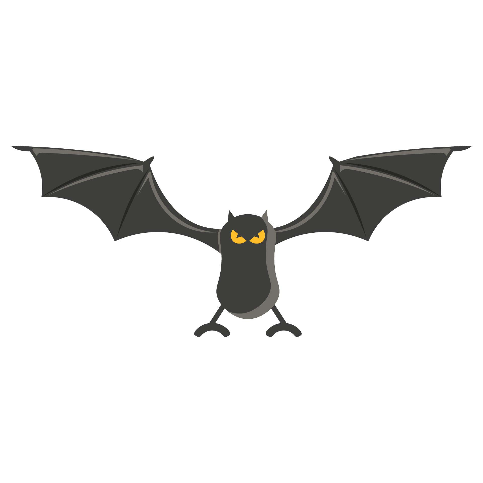 Halloween Bat Stencil Cutouts Printable