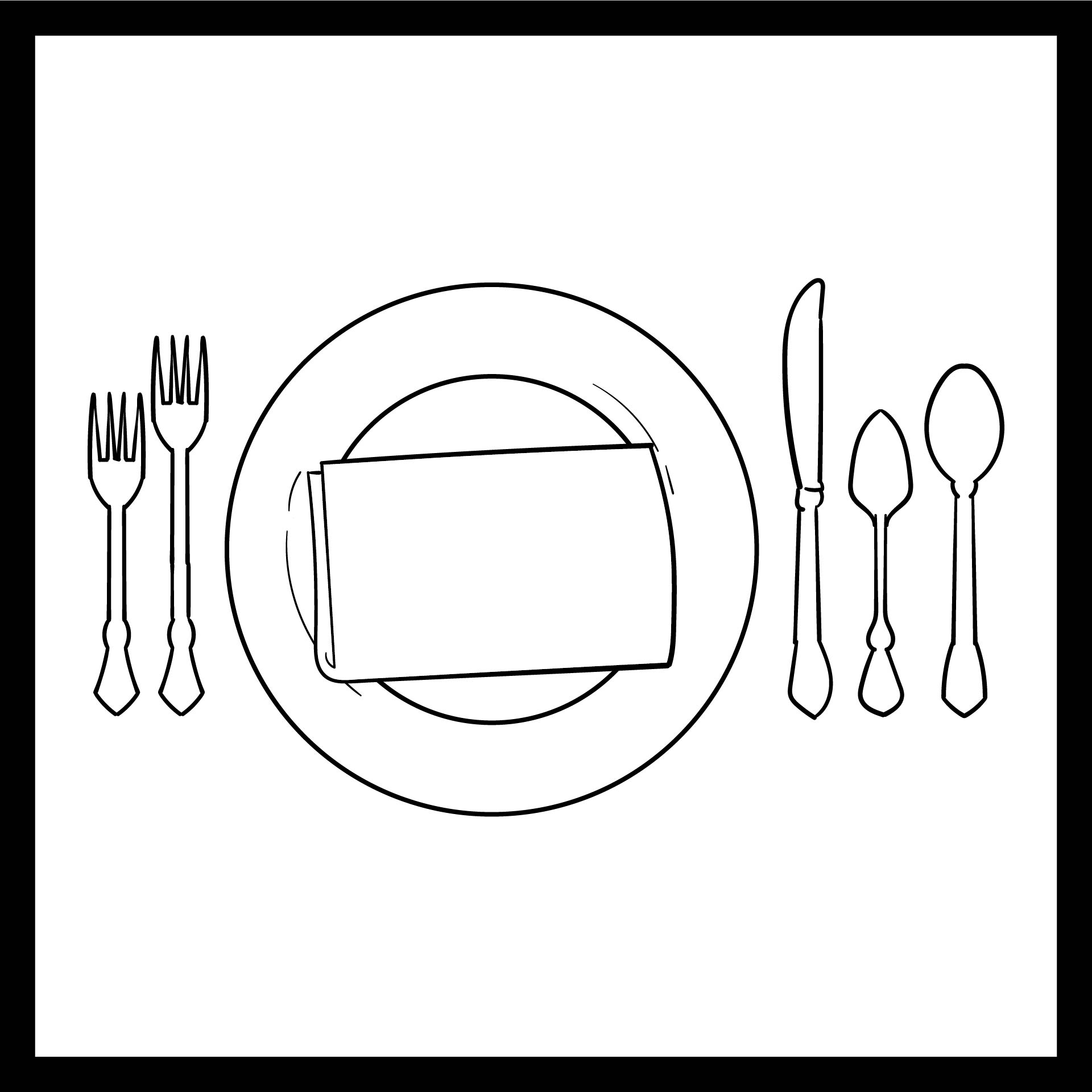 Preschool Manners Coloring Pages Printable