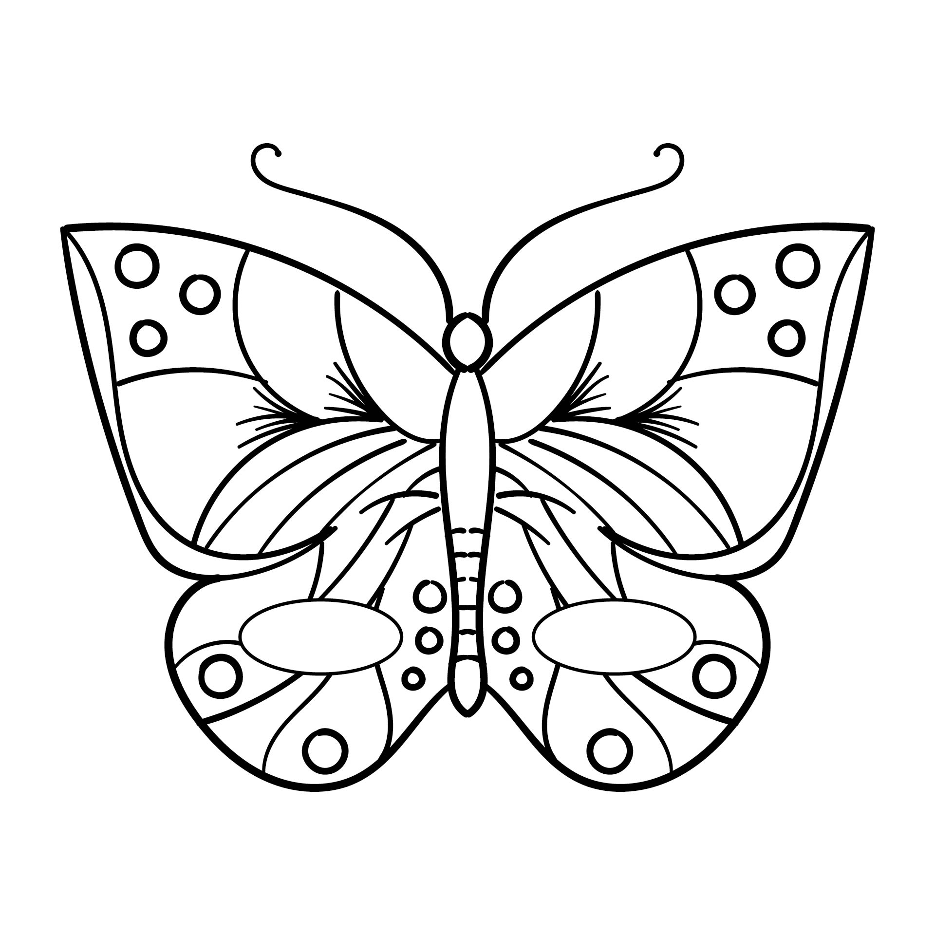 Butterfly Mask Printable Coloring Pages