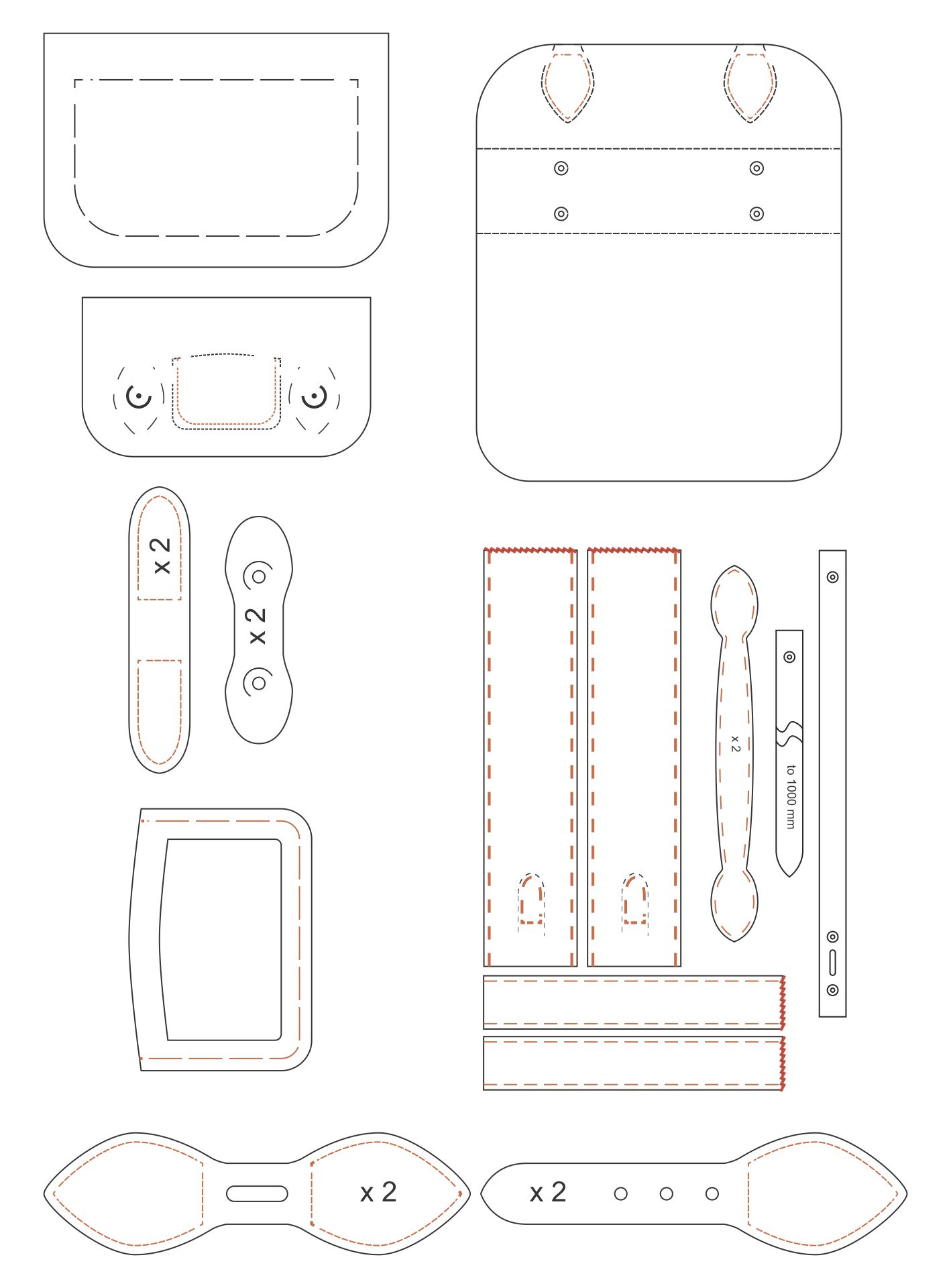 Leather Handbag Patterns Printable