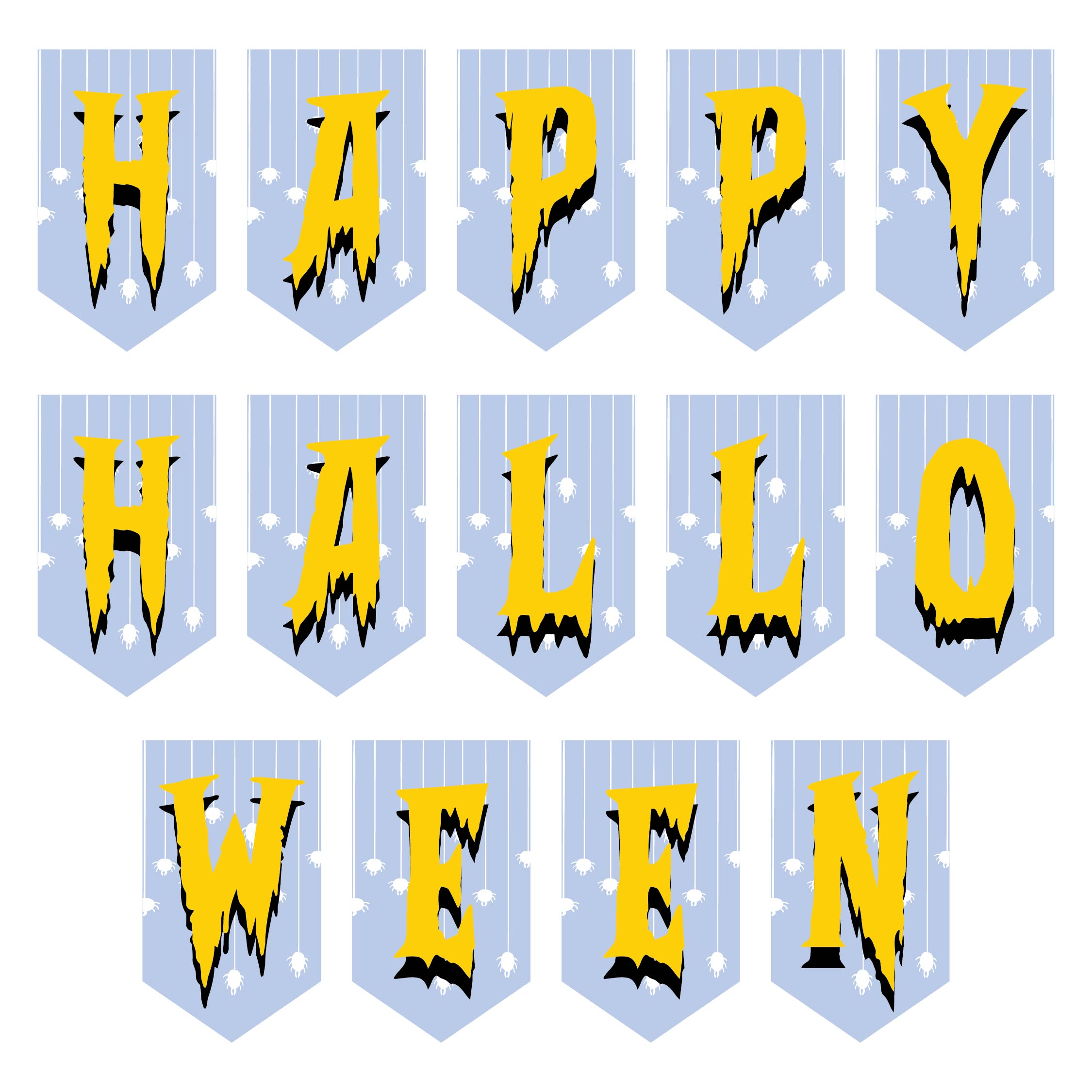 Printable Halloween Alphabet