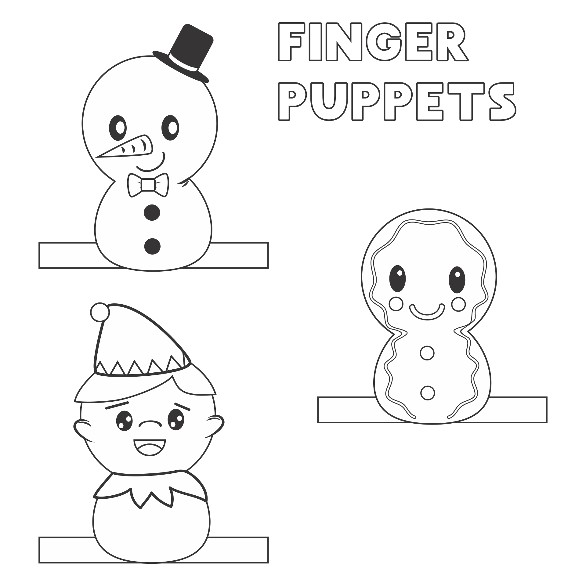 Fun Christmas Crafts Printable