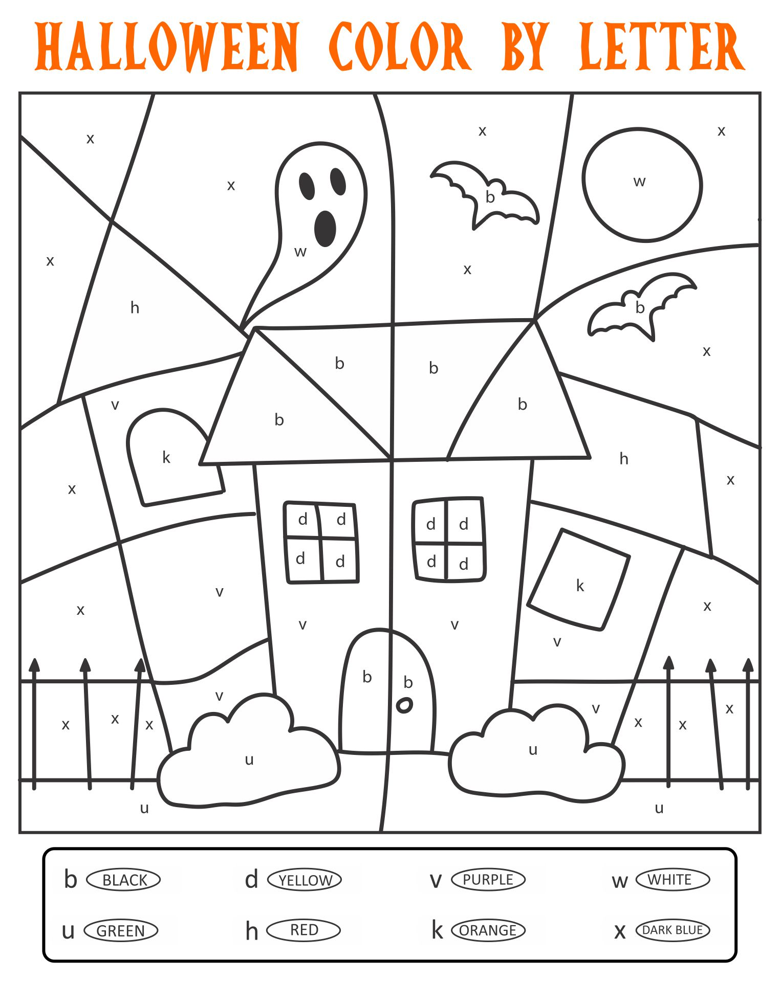 Halloween Activities For Adults Printables